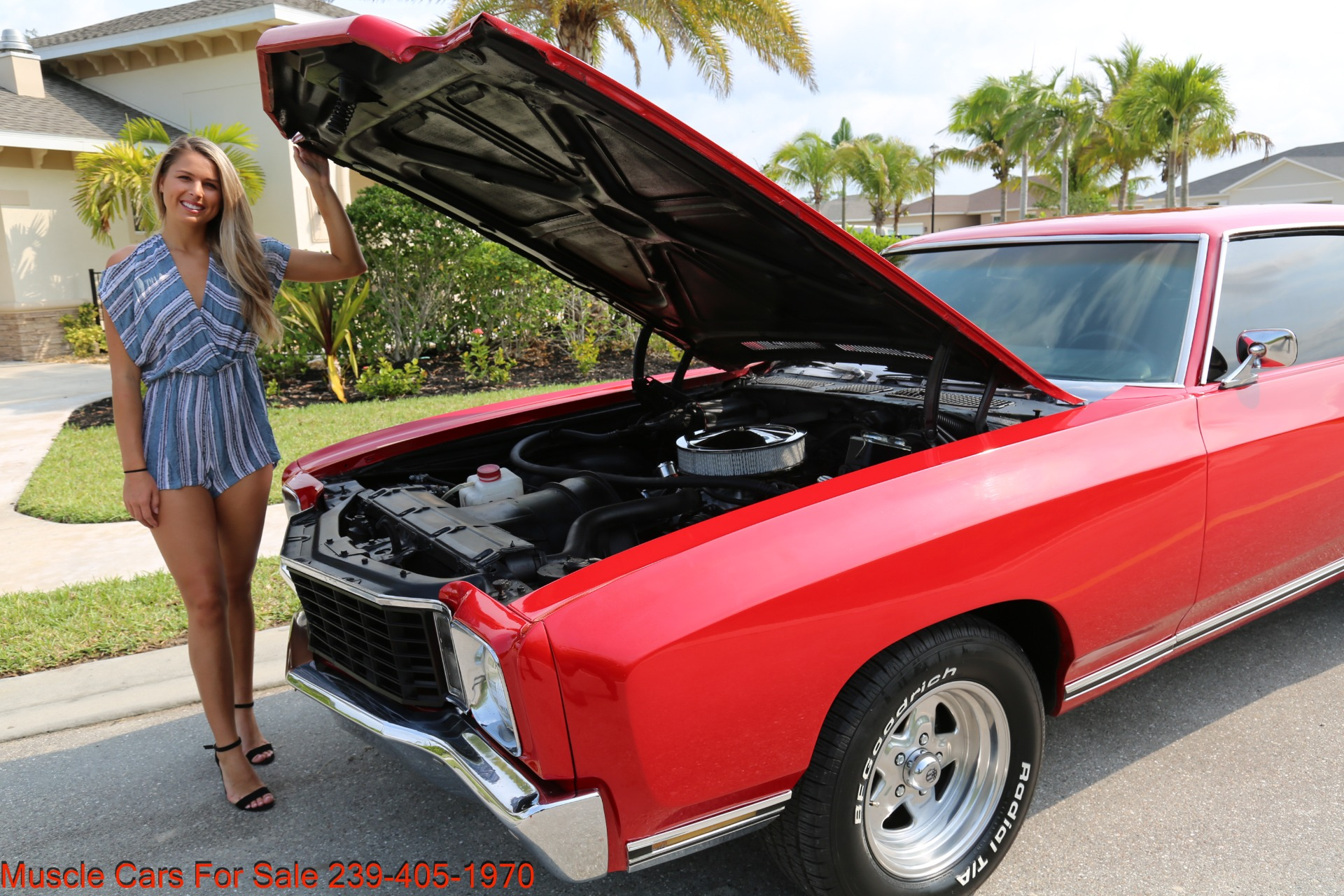 Used 1972 Chevy Monte Carlo for sale Sold at Muscle Cars for Sale Inc. in Fort Myers FL 33912 6