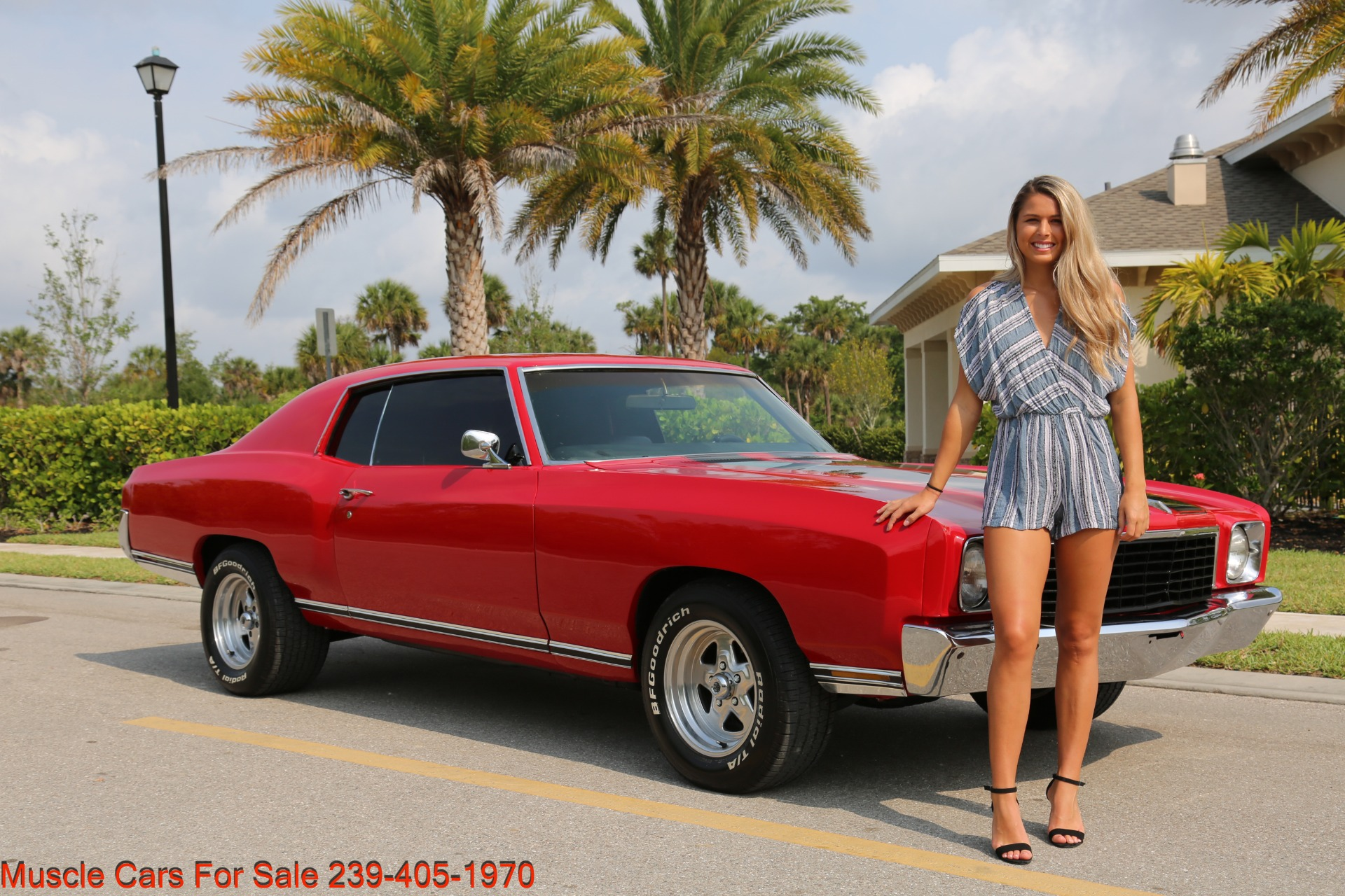 Used 1972 Chevy Monte Carlo for sale Sold at Muscle Cars for Sale Inc. in Fort Myers FL 33912 8