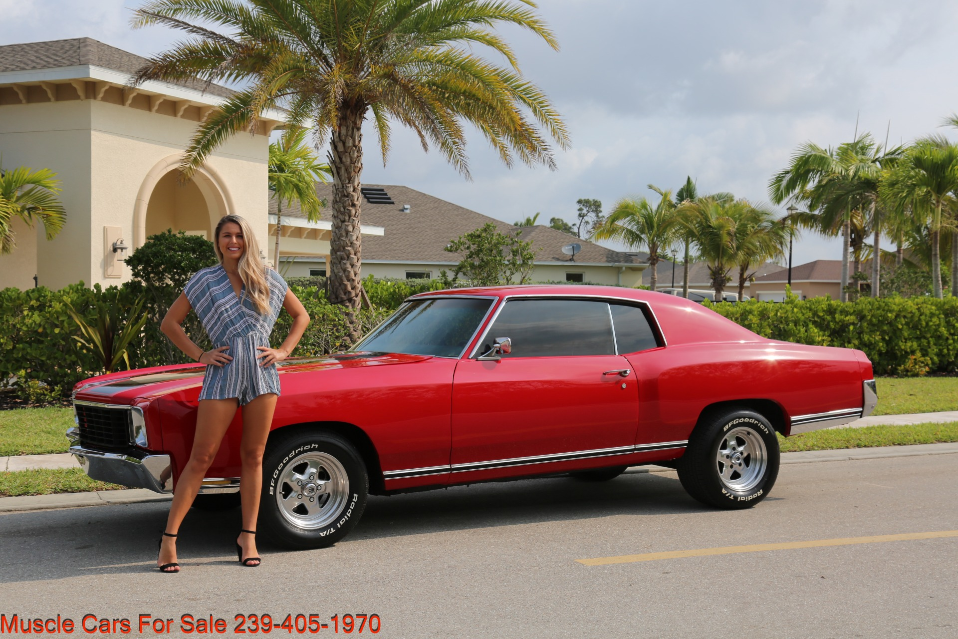 Used 1972 Chevy Monte Carlo for sale Sold at Muscle Cars for Sale Inc. in Fort Myers FL 33912 1