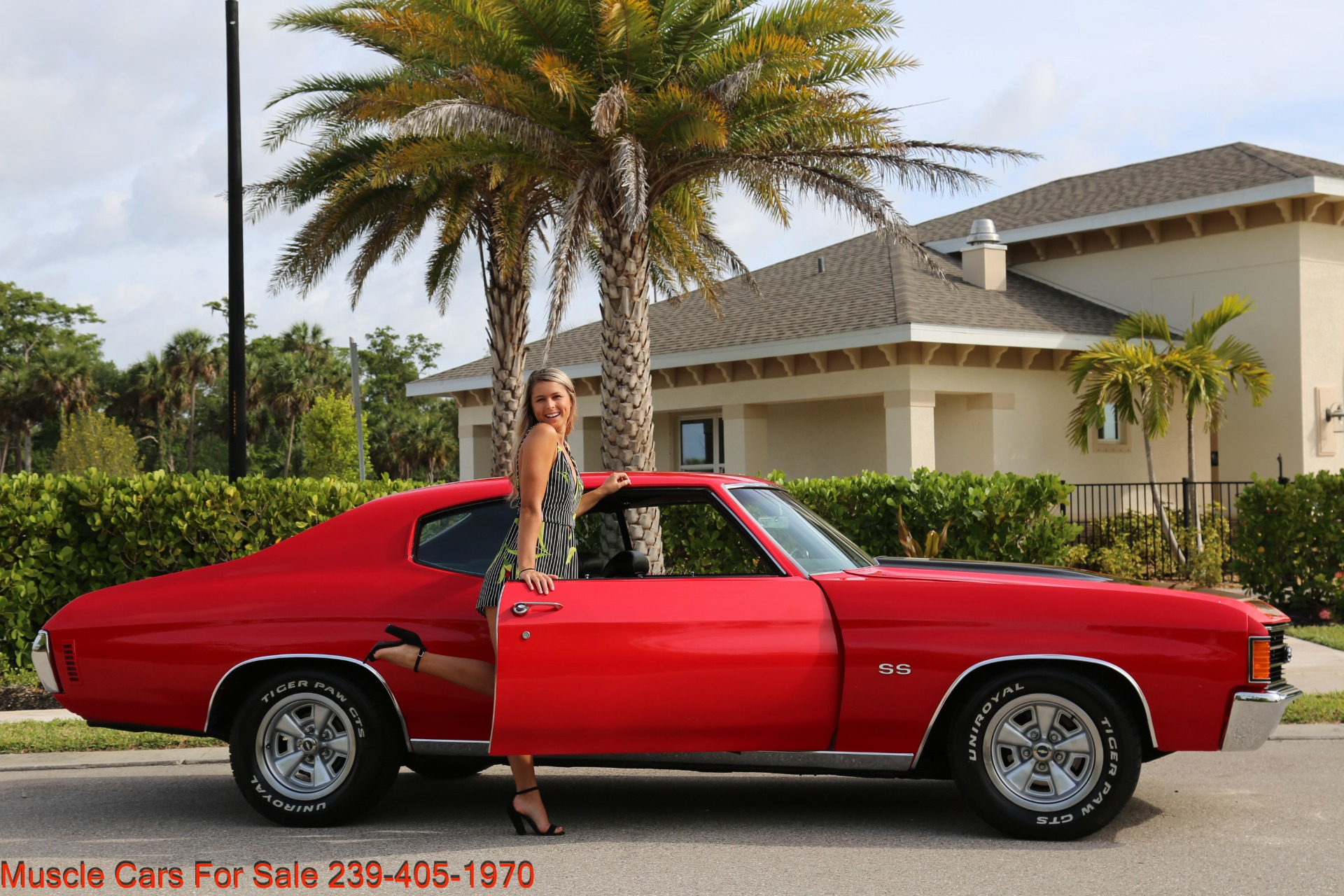 Used 1972 Chevy Chevelle for sale Sold at Muscle Cars for Sale Inc. in Fort Myers FL 33912 4