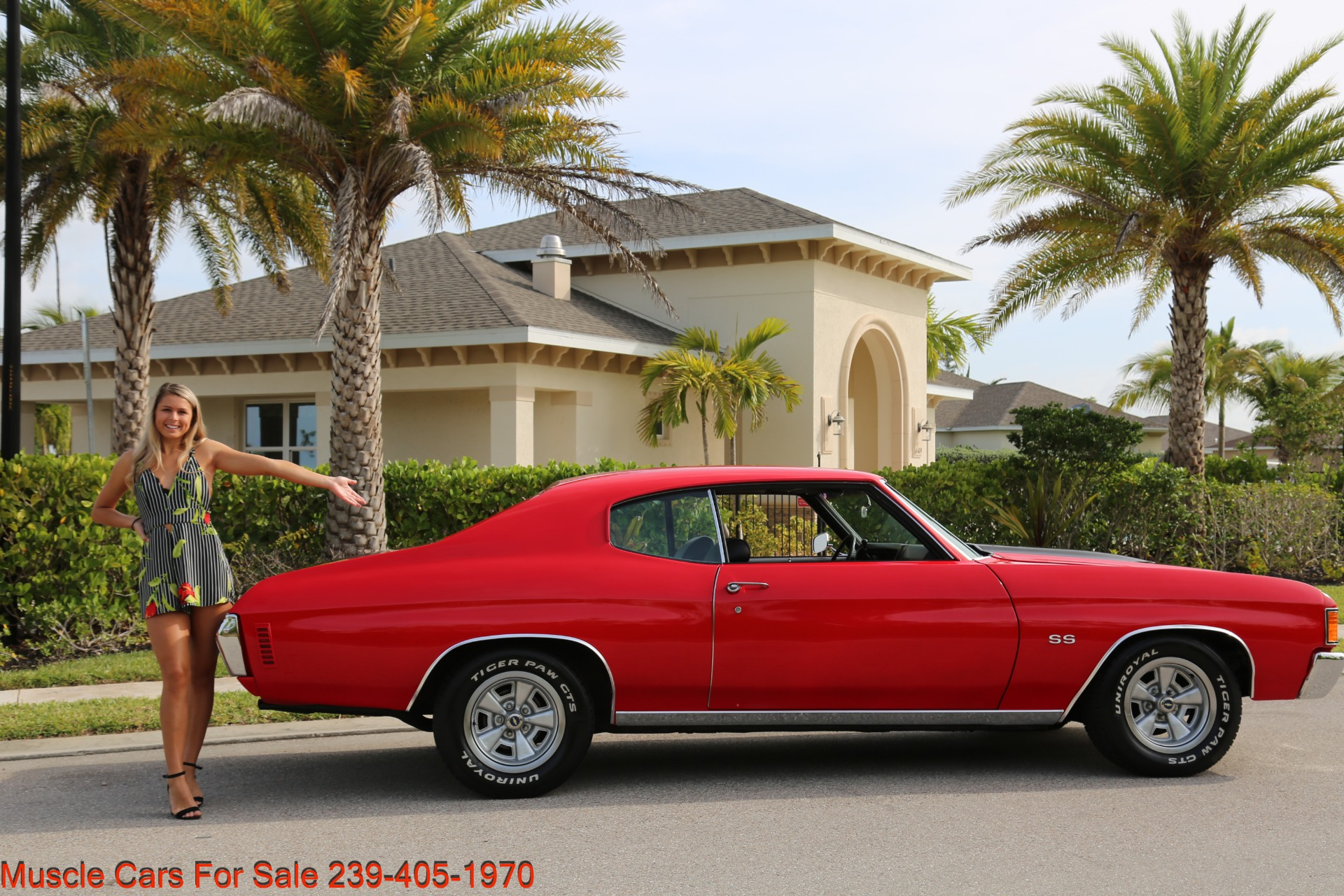 Used 1972 Chevy Chevelle for sale Sold at Muscle Cars for Sale Inc. in Fort Myers FL 33912 1