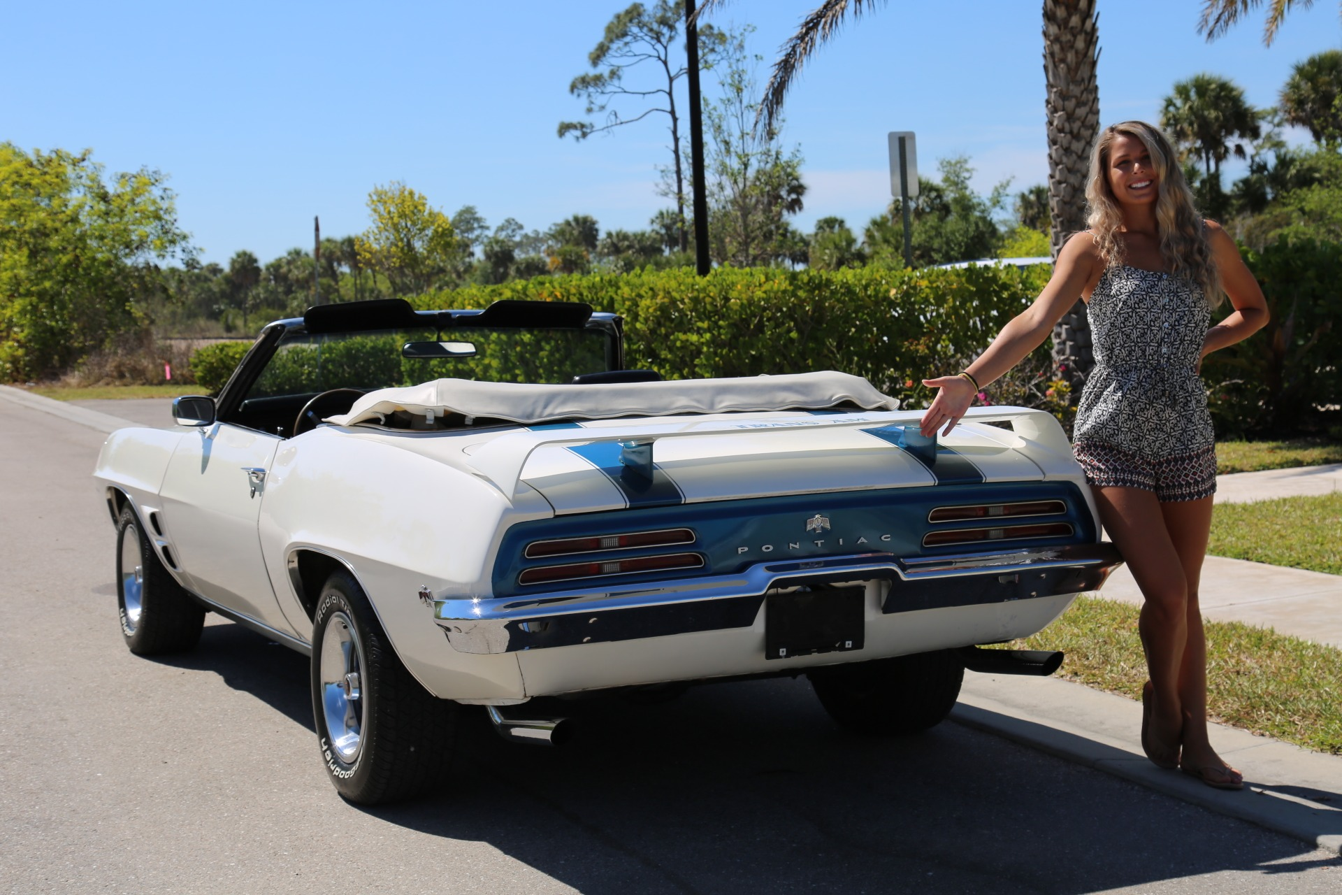 Used 1969 Pontiac Firebird for sale Sold at Muscle Cars for Sale Inc. in Fort Myers FL 33912 4