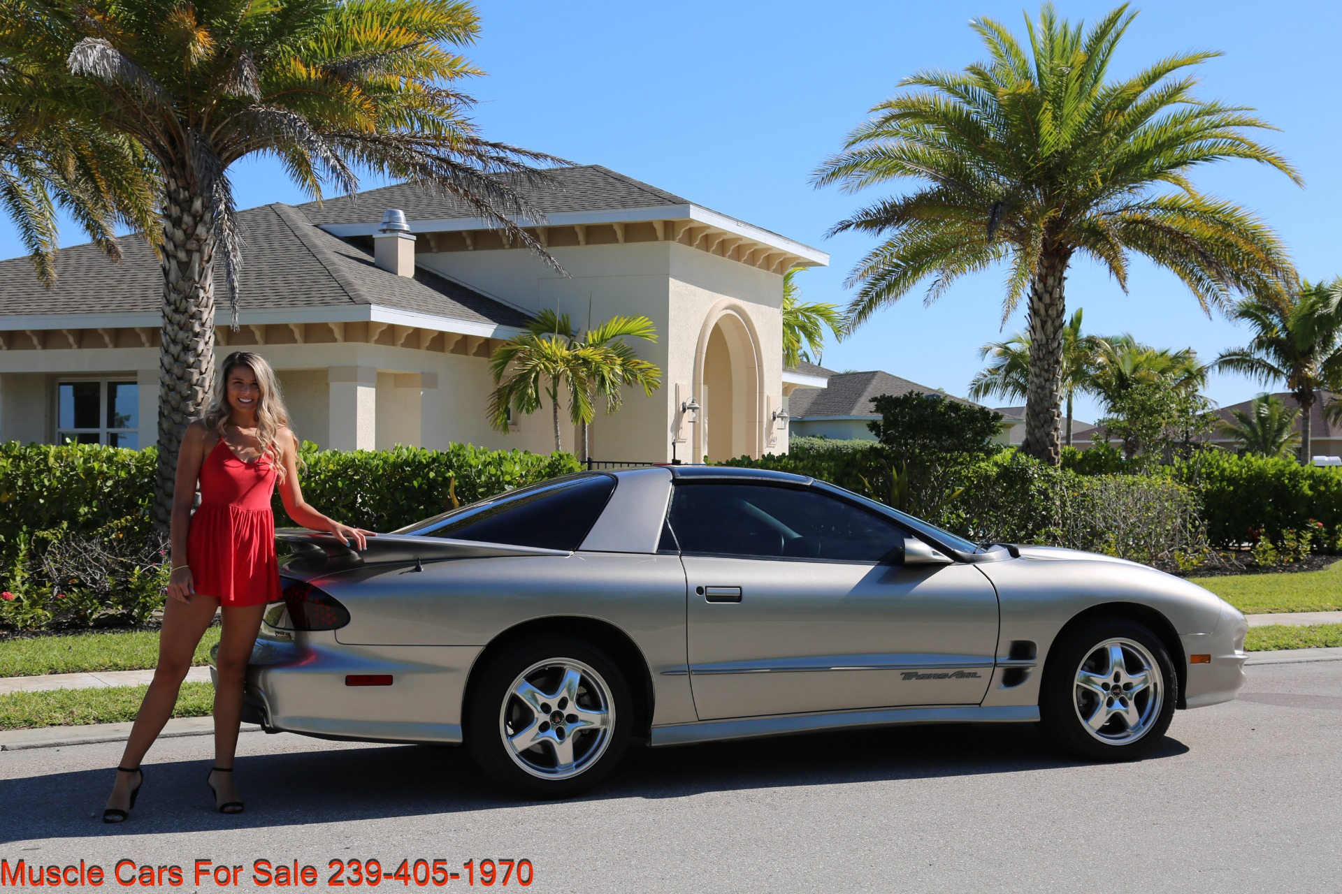 Used 2001 Pontiac Firebird Trans Am for sale $21,900 at Muscle Cars for Sale Inc. in Fort Myers FL 33912 4