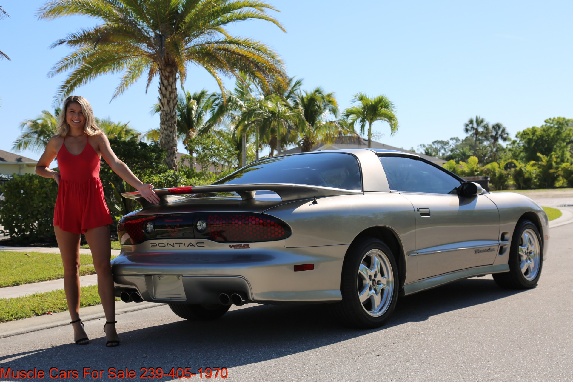 Used 2001 Pontiac Firebird Trans Am for sale $21,900 at Muscle Cars for Sale Inc. in Fort Myers FL 33912 5
