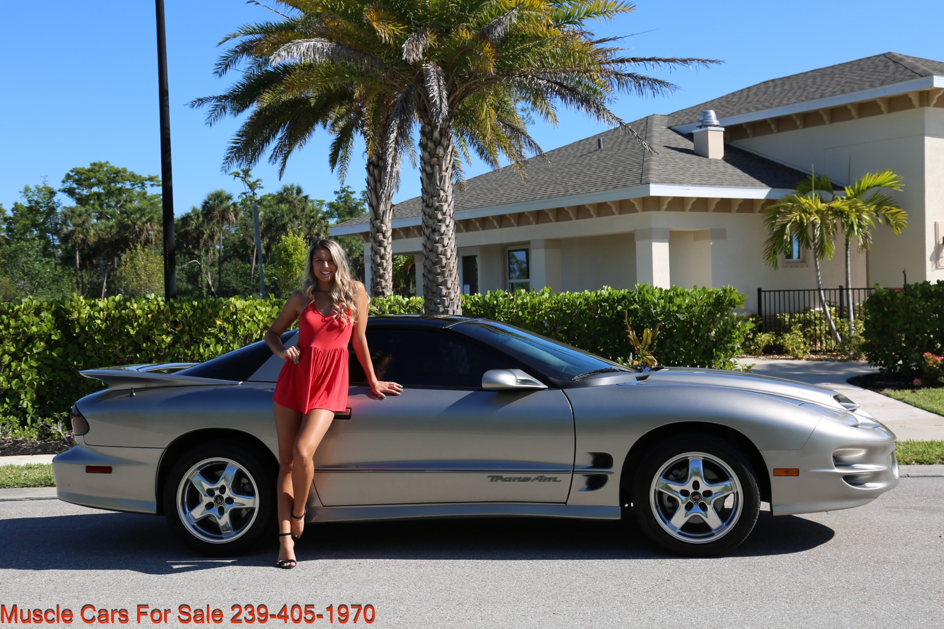 Used 2001 Pontiac Firebird Trans Am for sale $21,900 at Muscle Cars for Sale Inc. in Fort Myers FL 33912 1