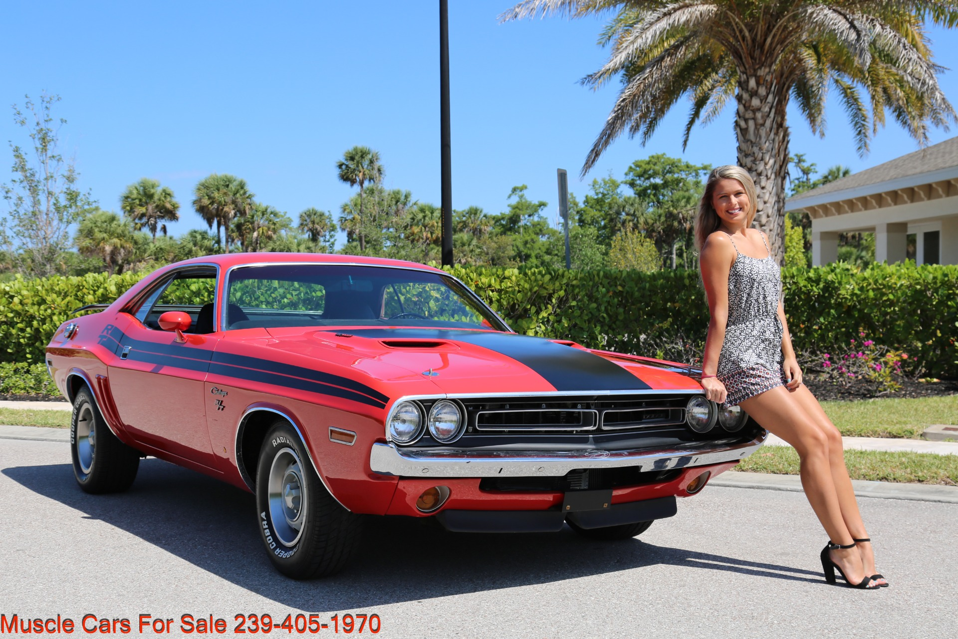 Used 1971 Dodge Challenger 440  Auto Rt Trim for sale Sold at Muscle Cars for Sale Inc. in Fort Myers FL 33912 3