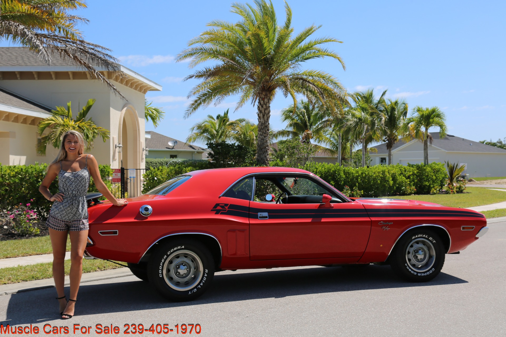 Used 1971 Dodge Challenger 440  Auto Rt Trim for sale Sold at Muscle Cars for Sale Inc. in Fort Myers FL 33912 4
