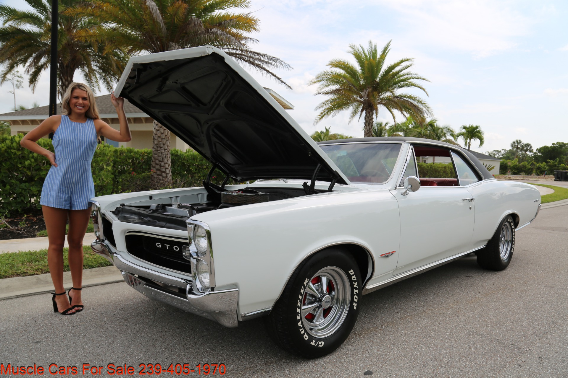 Used 1966 Pontiac GTO for sale Sold at Muscle Cars for Sale Inc. in Fort Myers FL 33912 7