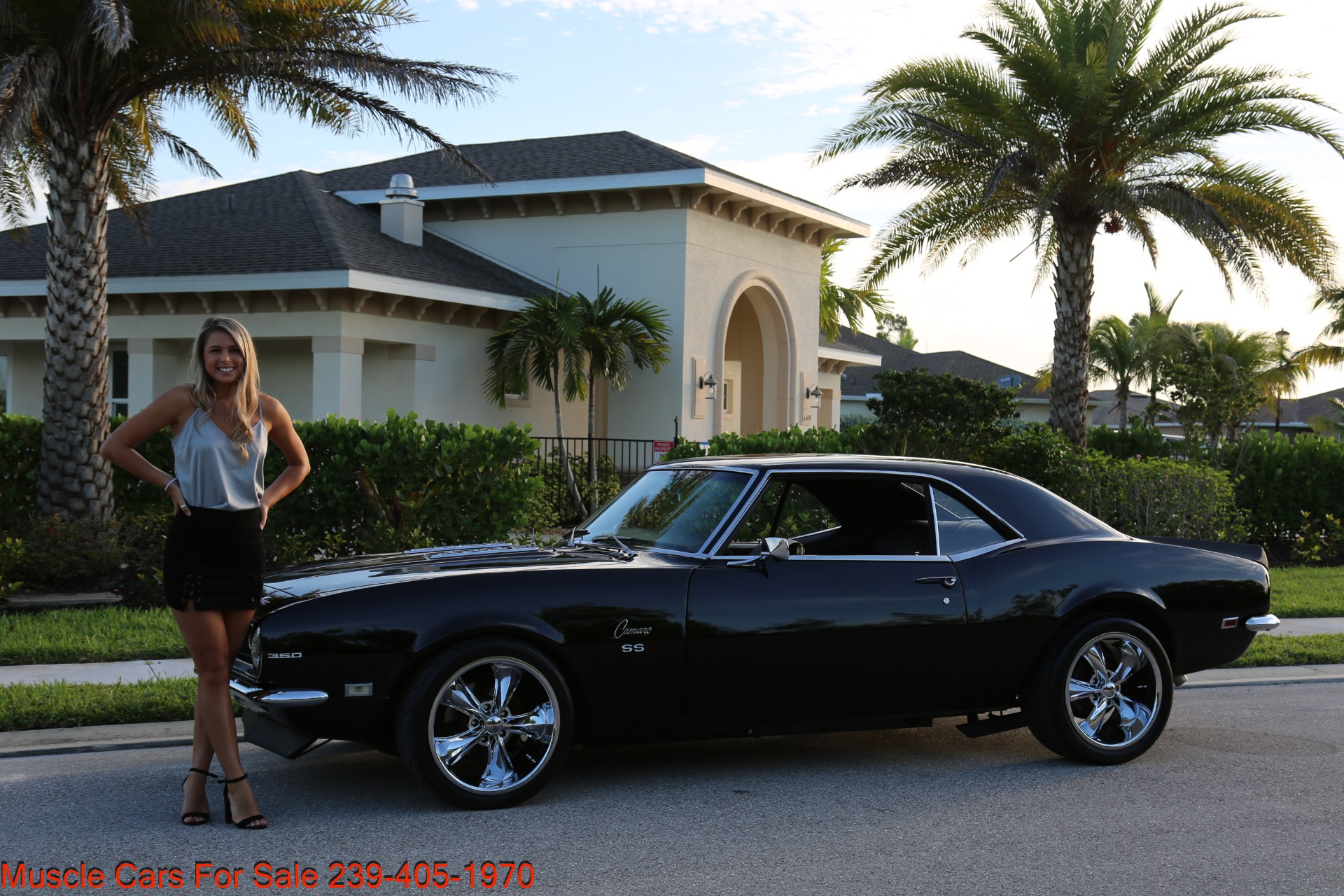 Used 1968 Chevy Camaro SS for sale Sold at Muscle Cars for Sale Inc. in Fort Myers FL 33912 3