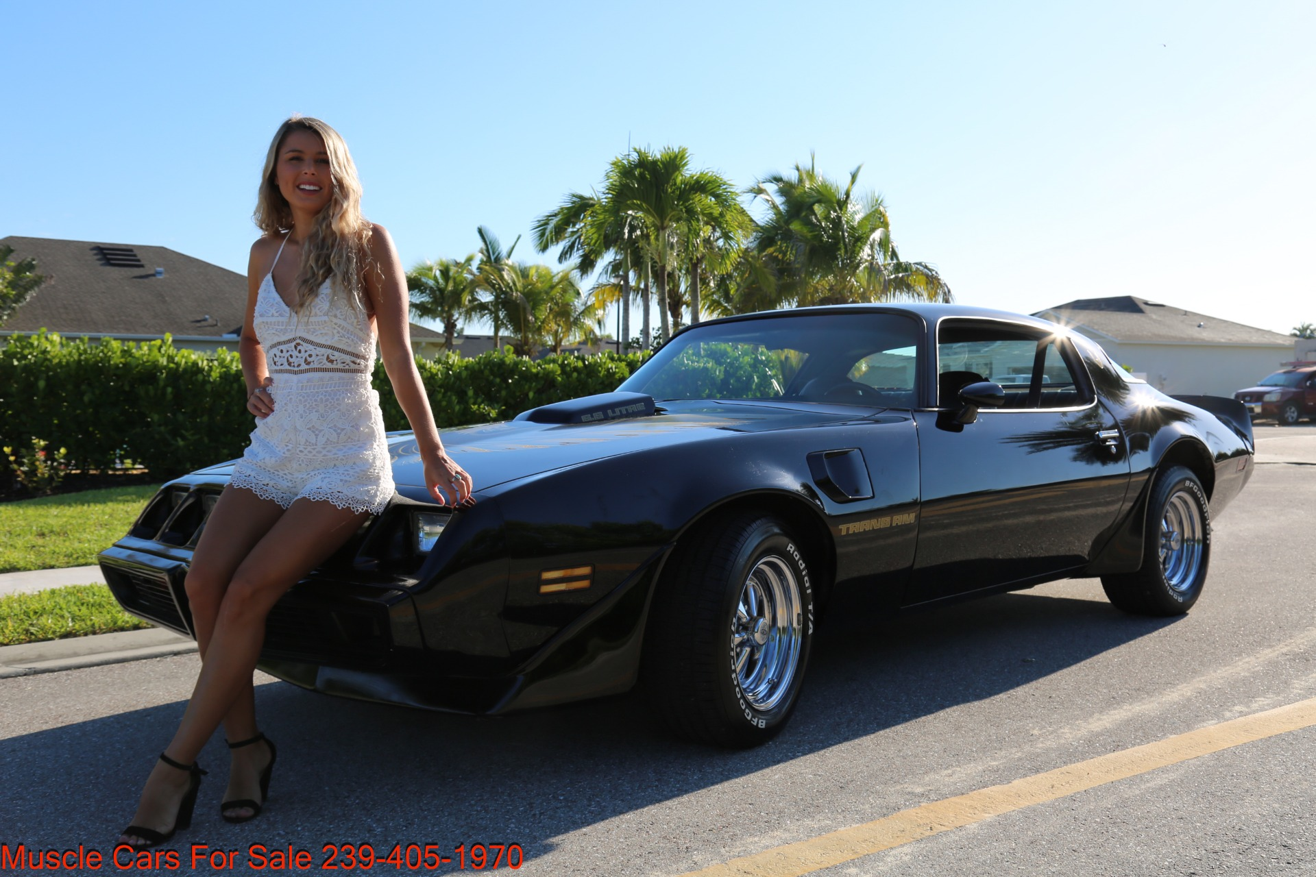 Used 1979 Pontiac Trans Am 6.6 403 # match Engine for sale $21,000 at Muscle Cars for Sale Inc. in Fort Myers FL 33912 5