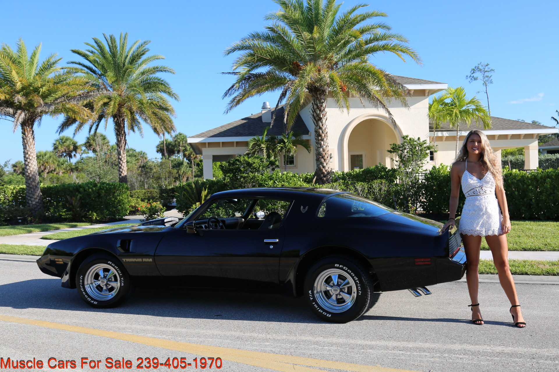 Used 1979 Pontiac Trans Am 6.6 403 # match Engine for sale $21,000 at Muscle Cars for Sale Inc. in Fort Myers FL 33912 6