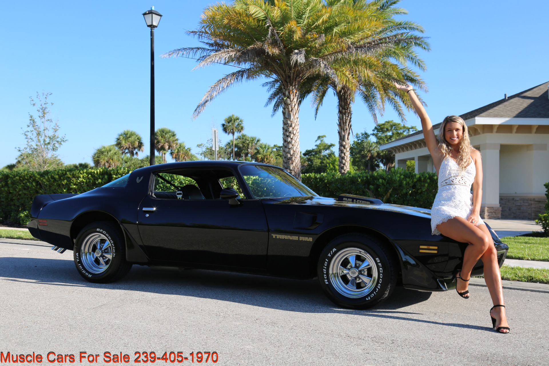 Used 1979 Pontiac Trans Am 6.6 403 # match Engine for sale Sold at Muscle Cars for Sale Inc. in Fort Myers FL 33912 1