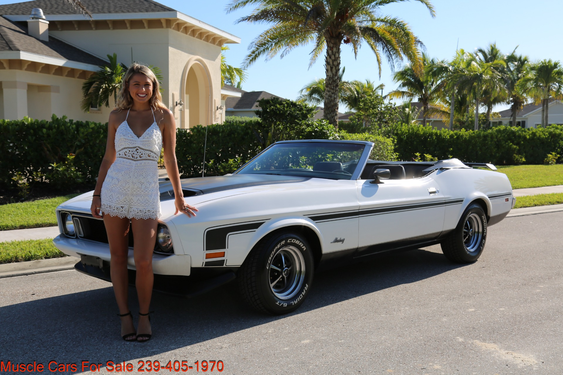 Used 1973 Ford Mustang Convertible for sale $19,900 at Muscle Cars for Sale Inc. in Fort Myers FL 33912 2