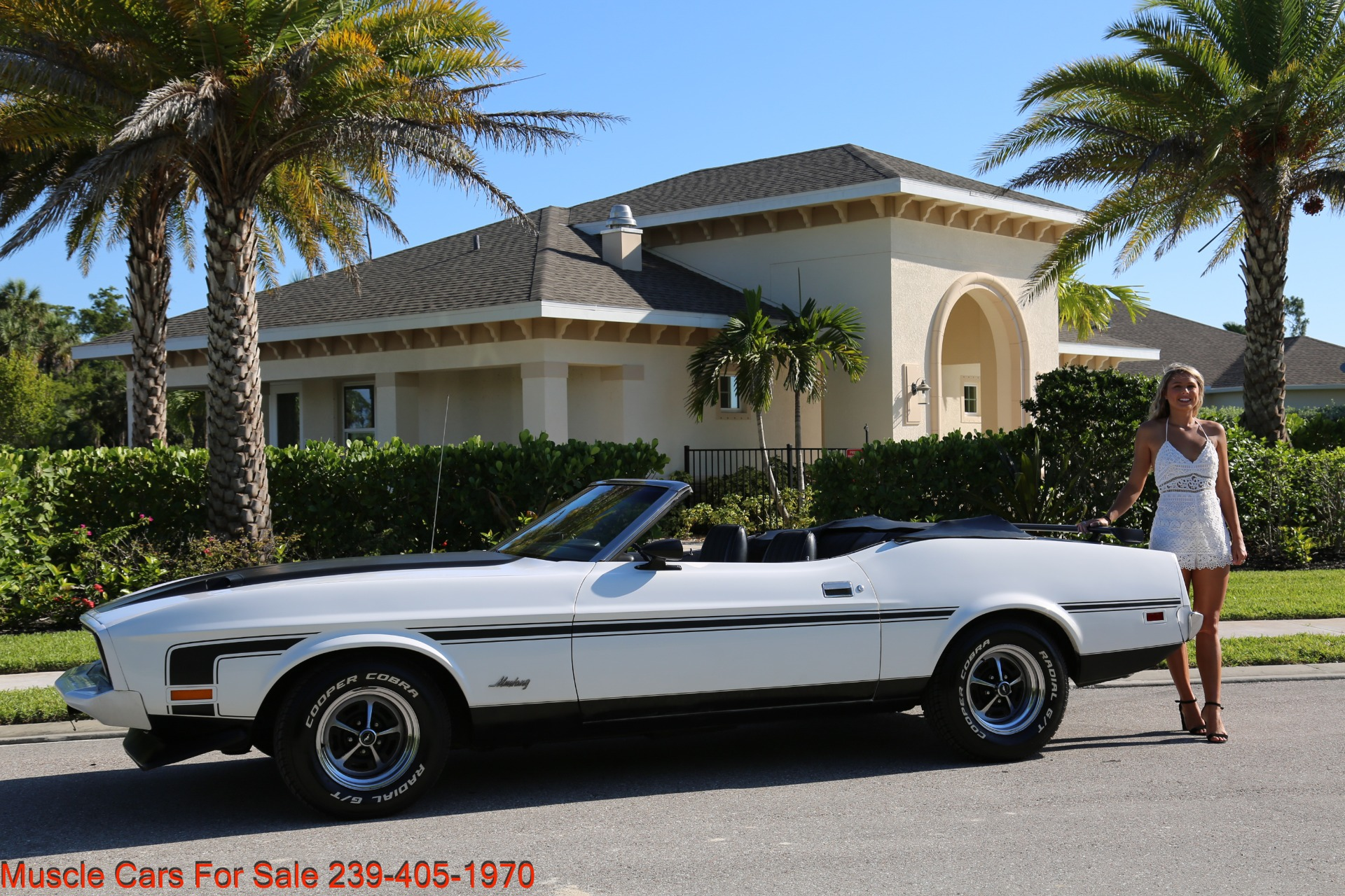 Used 1973 Ford Mustang Convertible for sale $19,900 at Muscle Cars for Sale Inc. in Fort Myers FL 33912 3