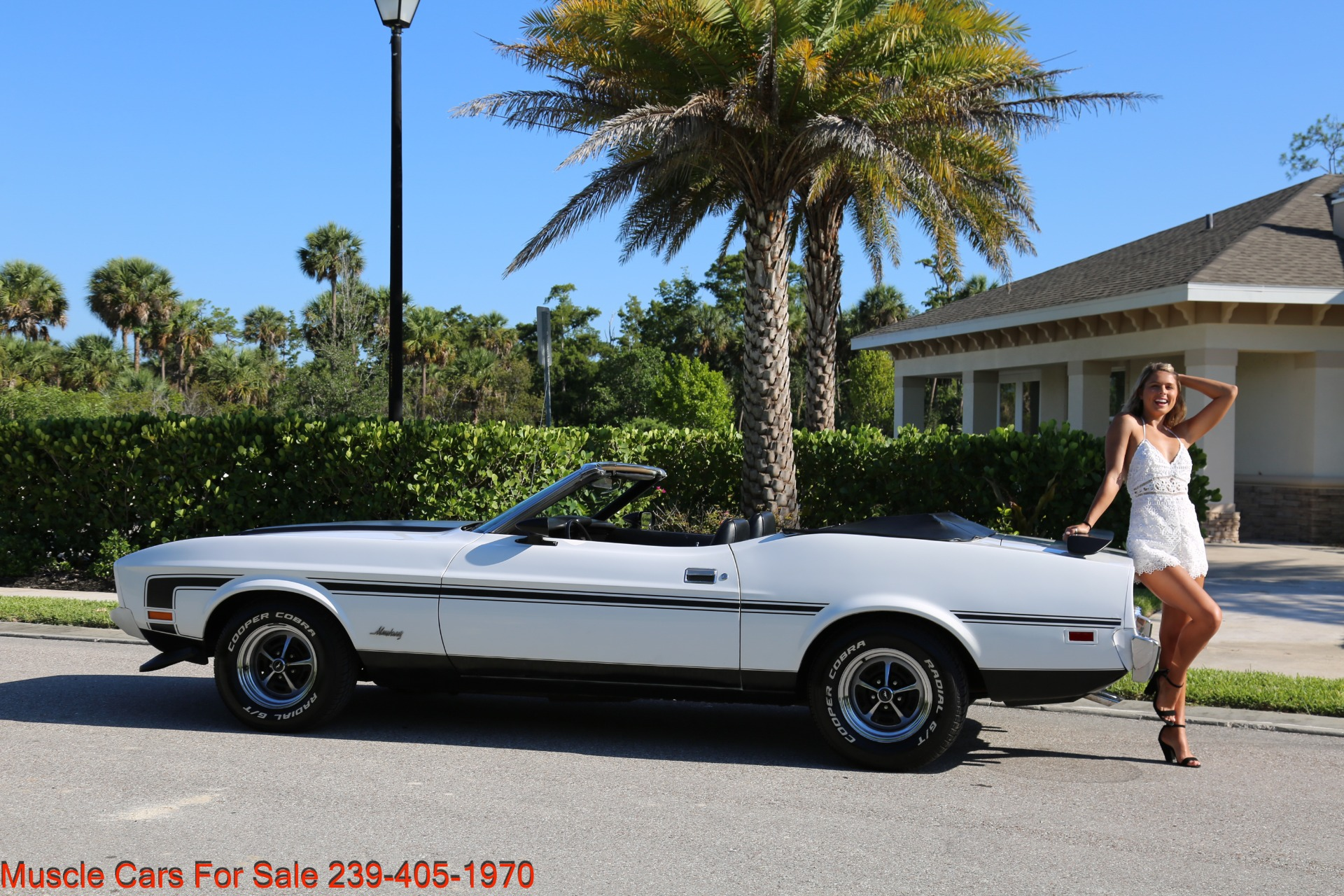 Used 1973 Ford Mustang Convertible for sale $19,900 at Muscle Cars for Sale Inc. in Fort Myers FL 33912 4