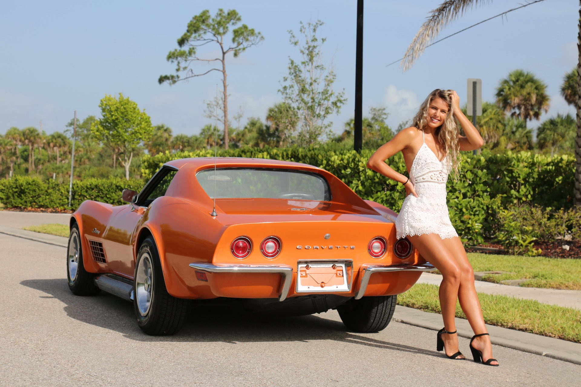 Used 1971 Chevy Corvette Removable rear Glass and T Top 4 speed for sale Sold at Muscle Cars for Sale Inc. in Fort Myers FL 33912 7
