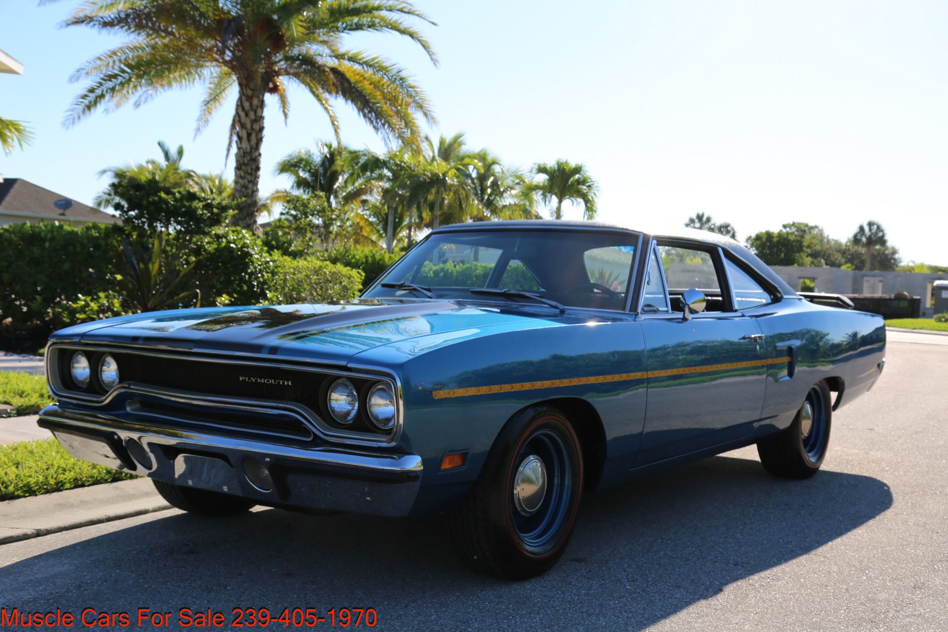 Used 1970 Plymouth Roadrunner Road Runner for sale Sold at Muscle Cars for Sale Inc. in Fort Myers FL 33912 2