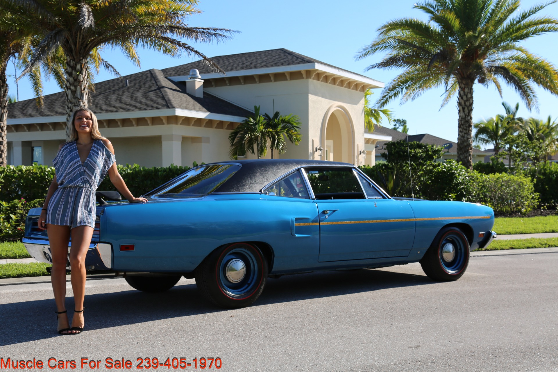 Used 1970 Plymouth Roadrunner Road Runner for sale Sold at Muscle Cars for Sale Inc. in Fort Myers FL 33912 3