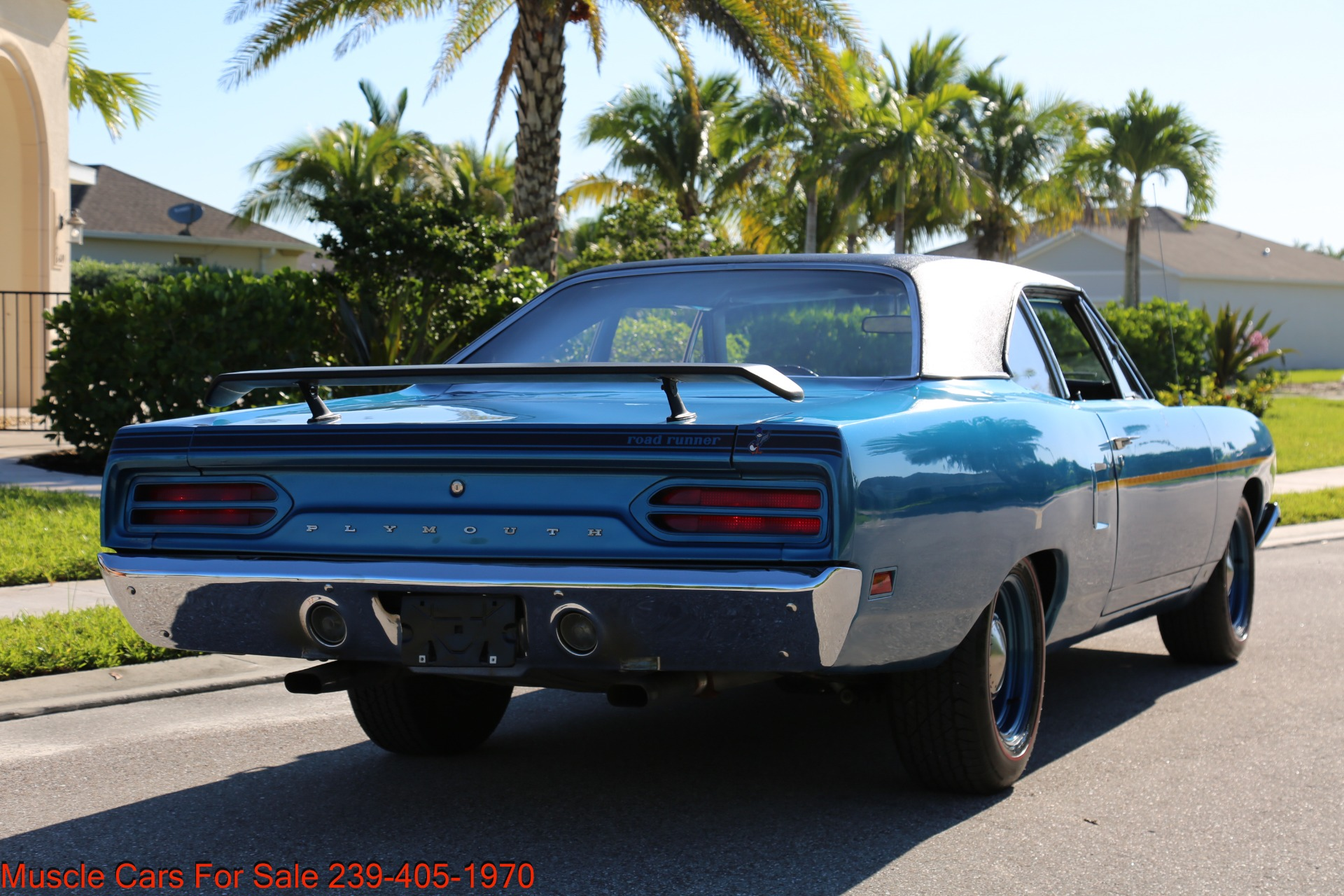 Used 1970 Plymouth Roadrunner Road Runner for sale Sold at Muscle Cars for Sale Inc. in Fort Myers FL 33912 4