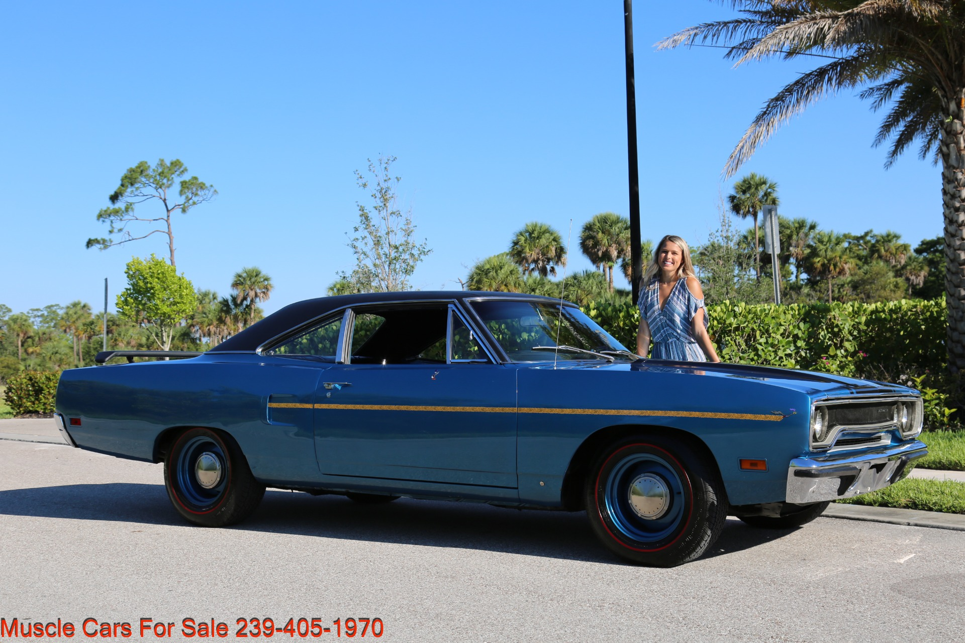 Used 1970 Plymouth Roadrunner Road Runner for sale Sold at Muscle Cars for Sale Inc. in Fort Myers FL 33912 1