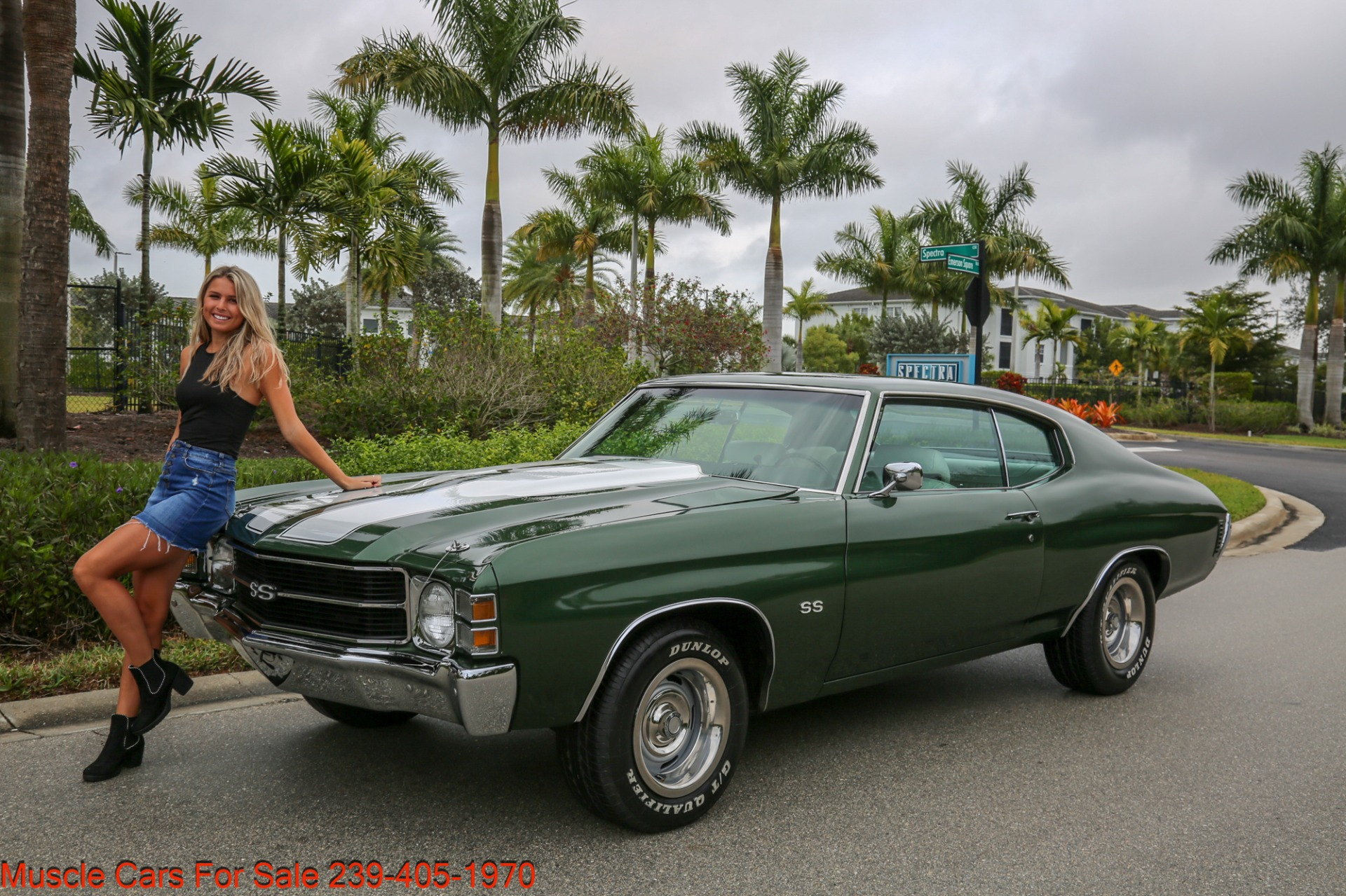 Used 1971 Chevy Chevelle SS SS for sale $29,900 at Muscle Cars for Sale Inc. in Fort Myers FL 33912 1