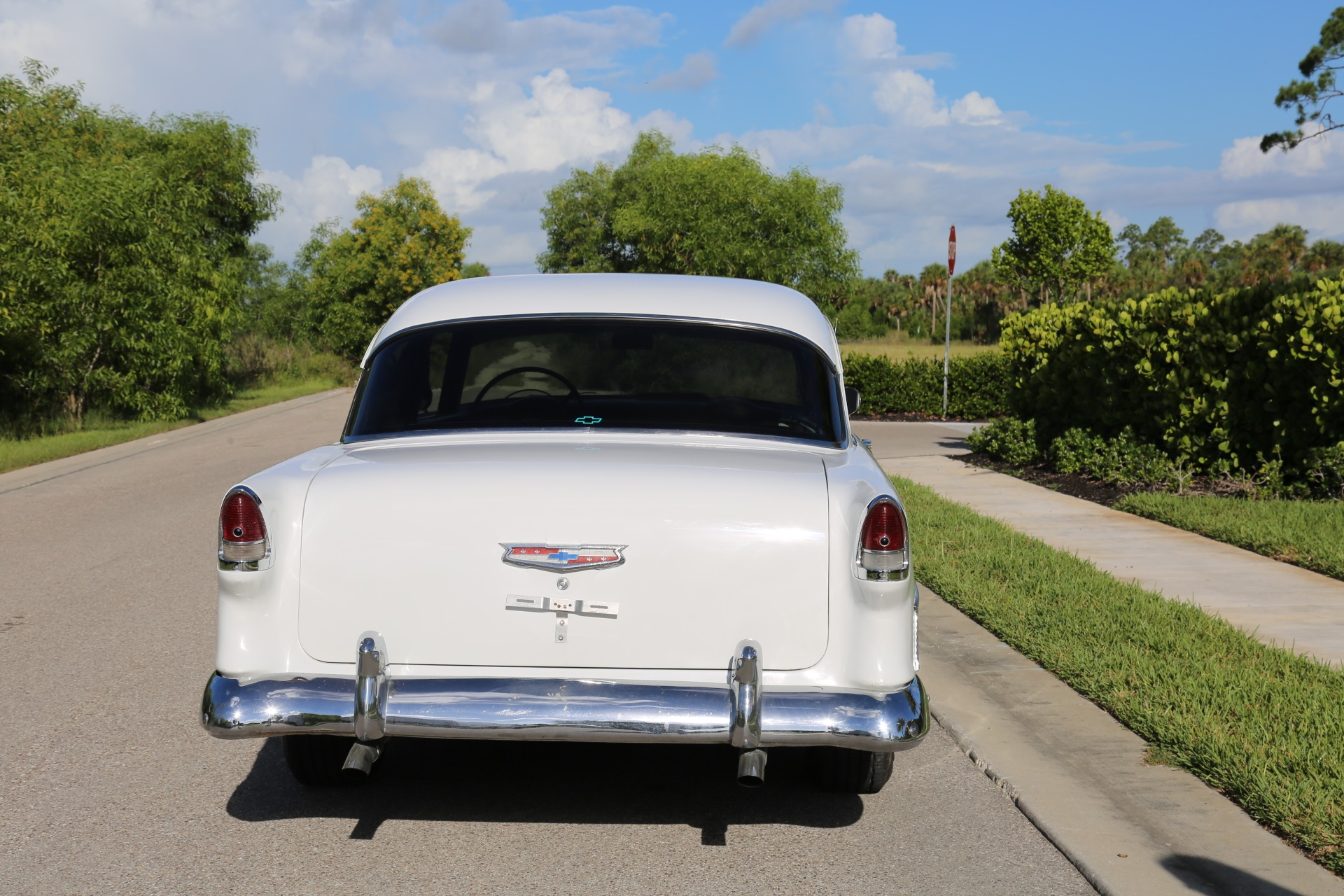 Used 1955 Chevy Bel Air BelAir for sale Sold at Muscle Cars for Sale Inc. in Fort Myers FL 33912 6