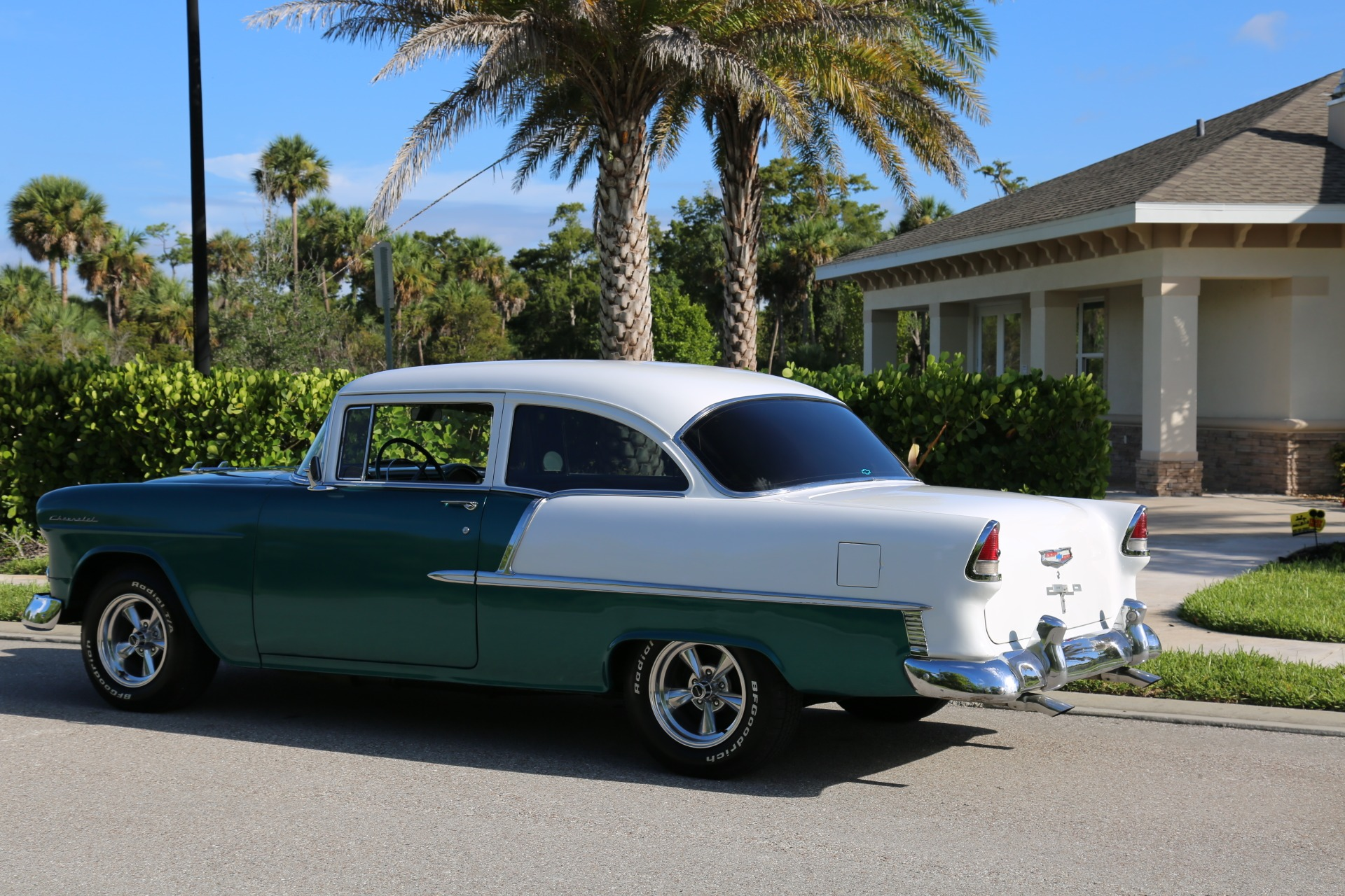 Used 1955 Chevy Bel Air BelAir for sale Sold at Muscle Cars for Sale Inc. in Fort Myers FL 33912 7