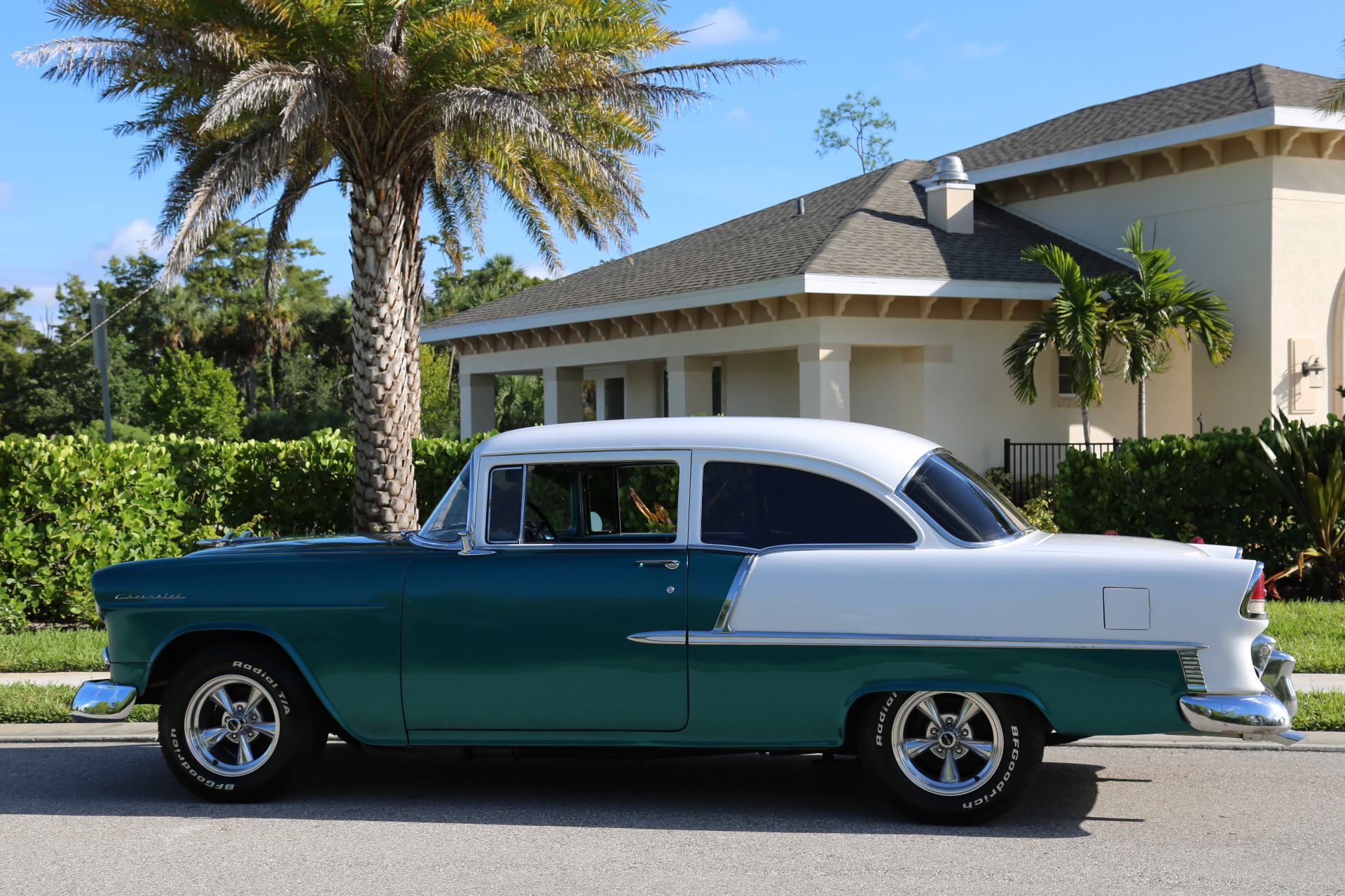Used 1955 Chevy Bel Air BelAir for sale Sold at Muscle Cars for Sale Inc. in Fort Myers FL 33912 8