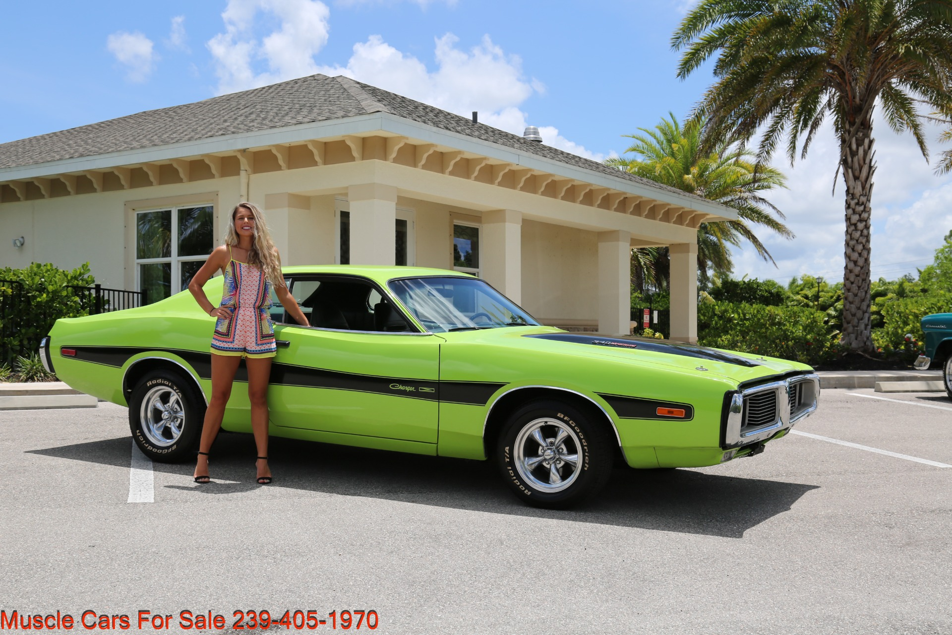 Used 1973 Dodge Charger 340 Auto Bucket Seats for sale Sold at Muscle Cars for Sale Inc. in Fort Myers FL 33912 2