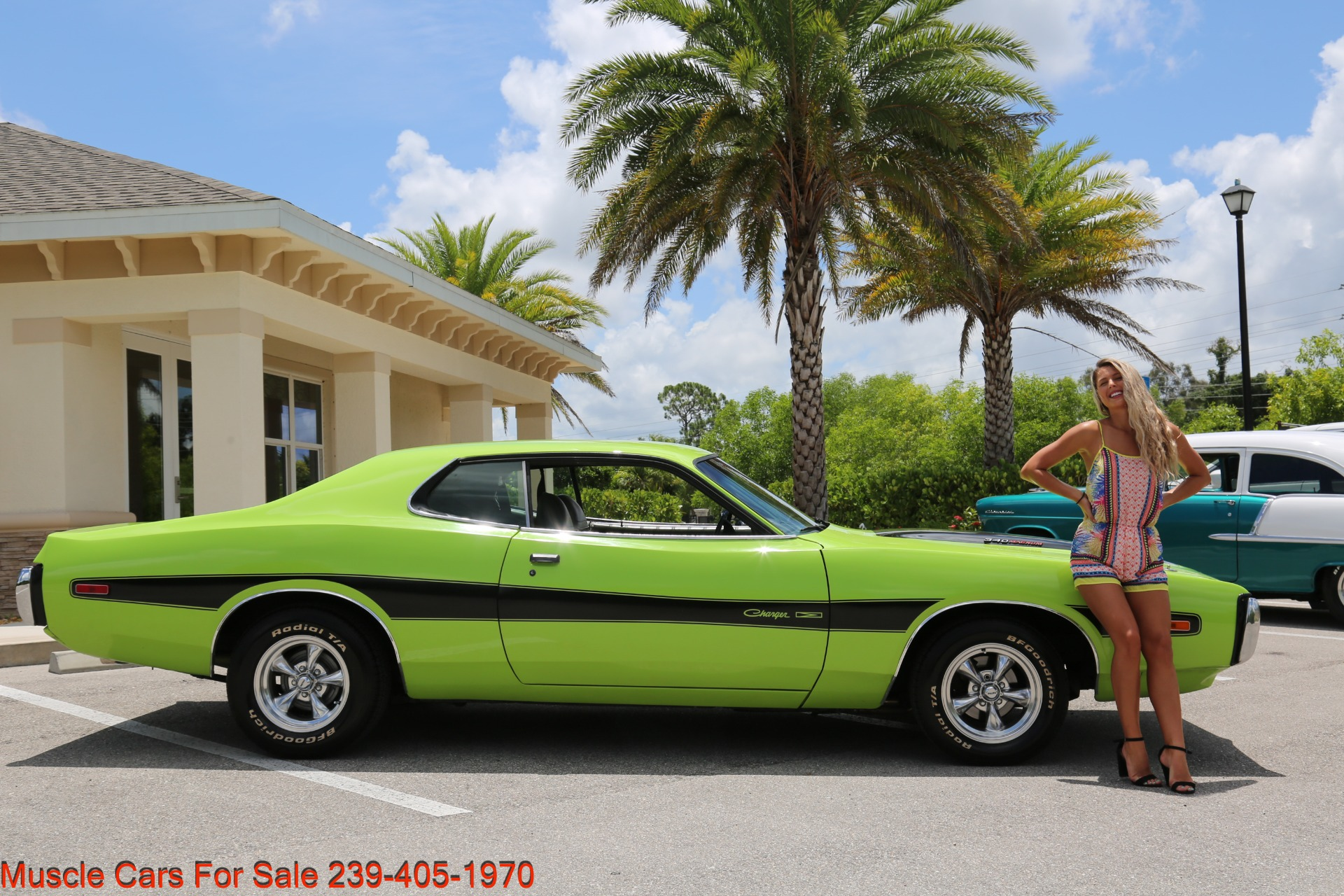 Used 1973 Dodge Charger 340 Auto Bucket Seats for sale Sold at Muscle Cars for Sale Inc. in Fort Myers FL 33912 3