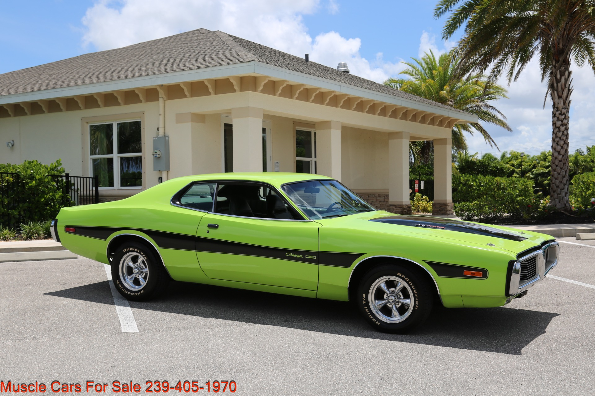 Used 1973 Dodge Charger 340 Auto Bucket Seats for sale Sold at Muscle Cars for Sale Inc. in Fort Myers FL 33912 8