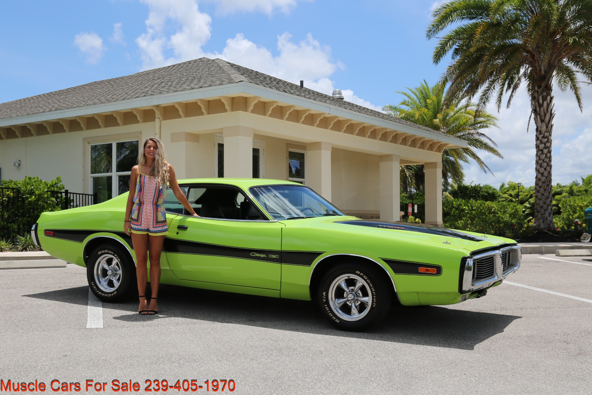 Used 1973 Dodge Charger 340 Auto Bucket Seats for sale Sold at Muscle Cars for Sale Inc. in Fort Myers FL 33912 1
