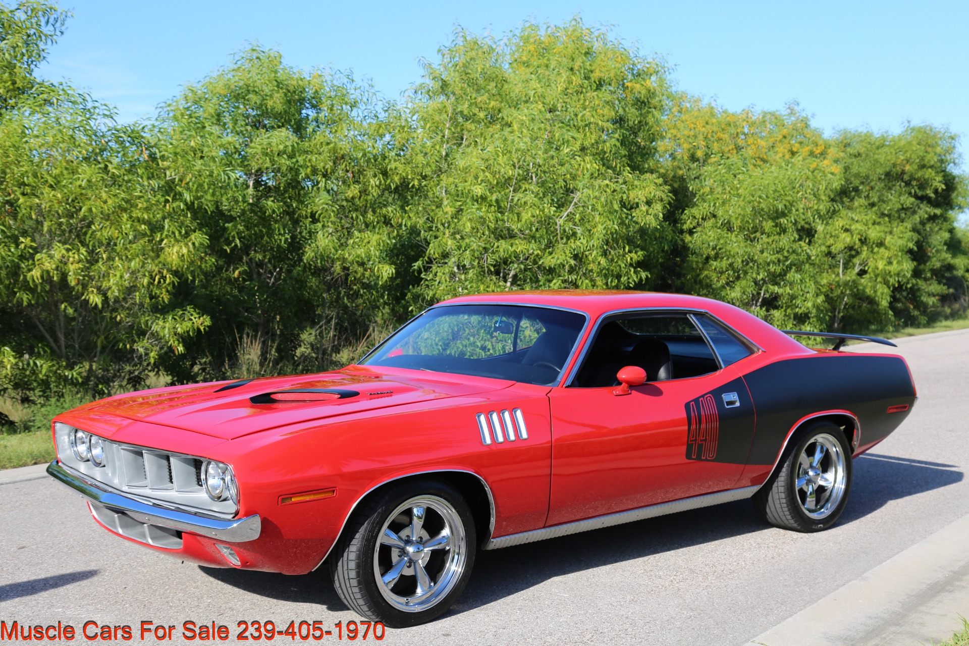 Used 1971 Plymouth Cuda Barracuda Cuda for sale Sold at Muscle Cars for Sale Inc. in Fort Myers FL 33912 2