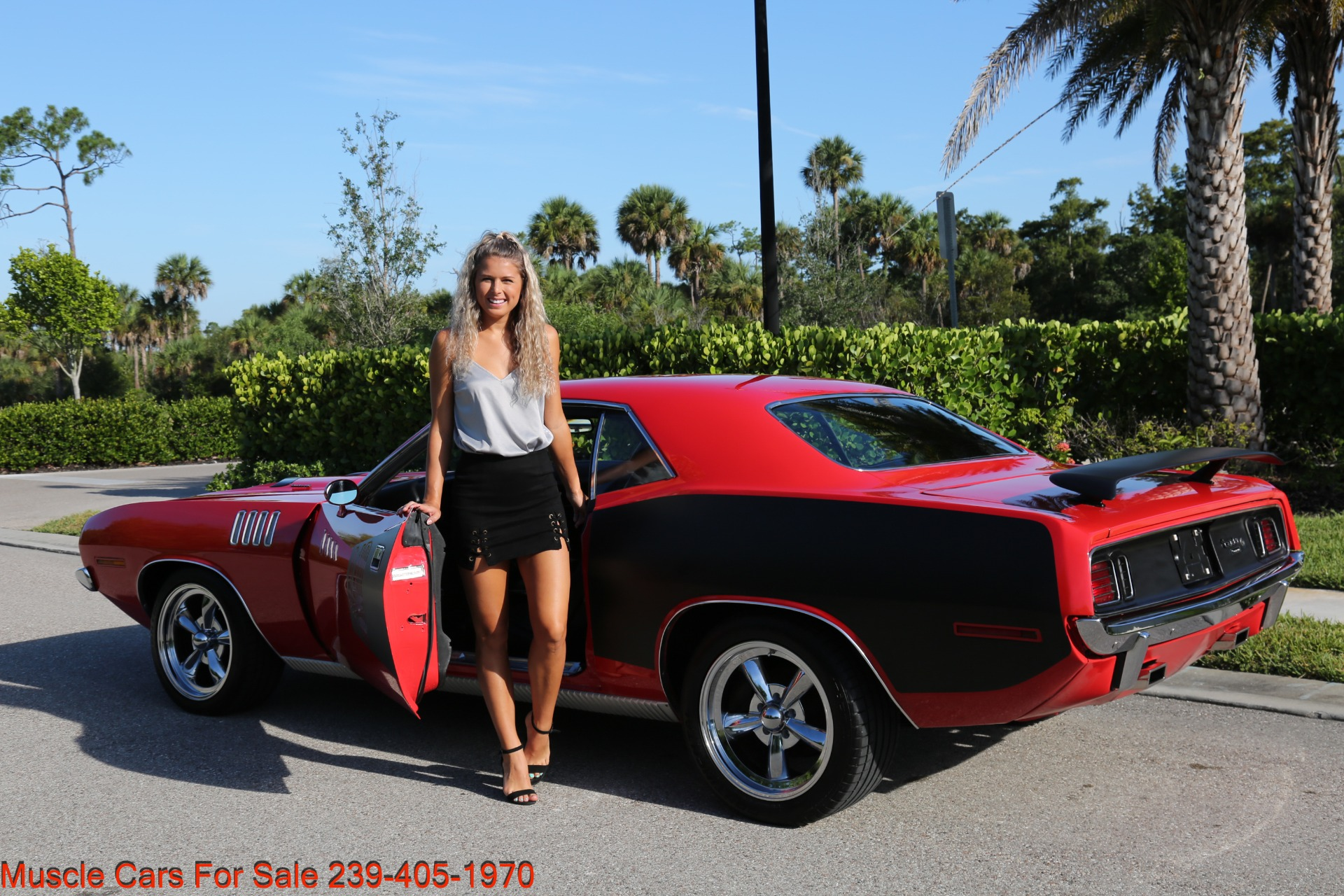 Used 1971 Plymouth Cuda Barracuda Cuda for sale Sold at Muscle Cars for Sale Inc. in Fort Myers FL 33912 3