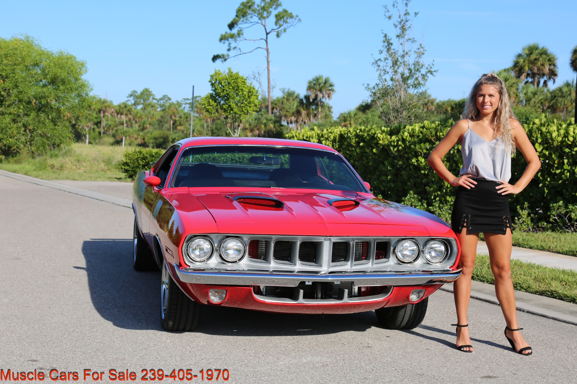 Used 1971 Plymouth Cuda Barracuda Cuda for sale Sold at Muscle Cars for Sale Inc. in Fort Myers FL 33912 4