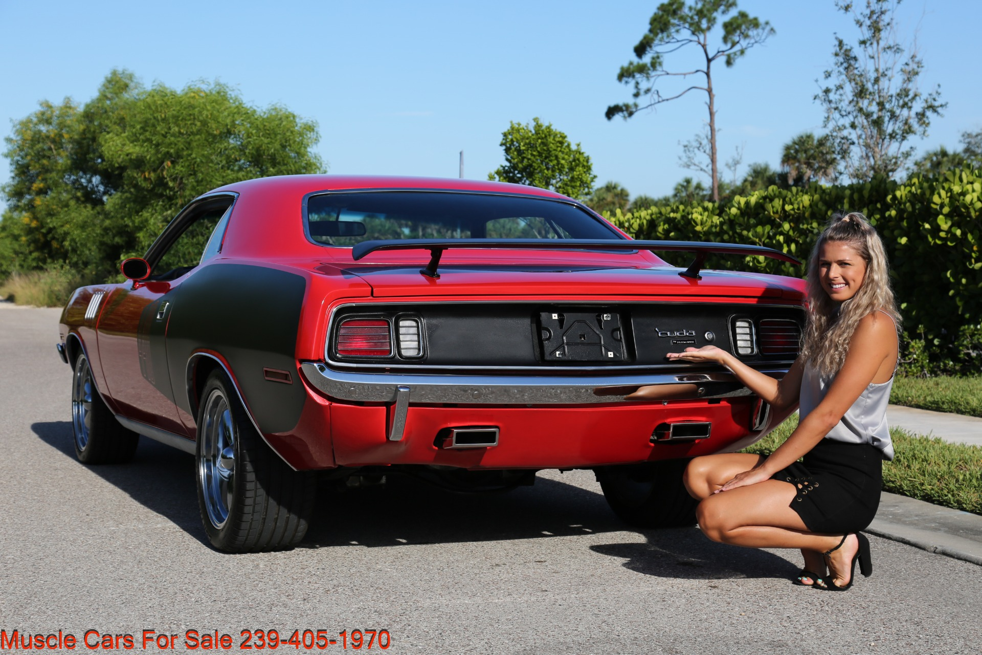 Used 1971 Plymouth Cuda Barracuda Cuda for sale Sold at Muscle Cars for Sale Inc. in Fort Myers FL 33912 5