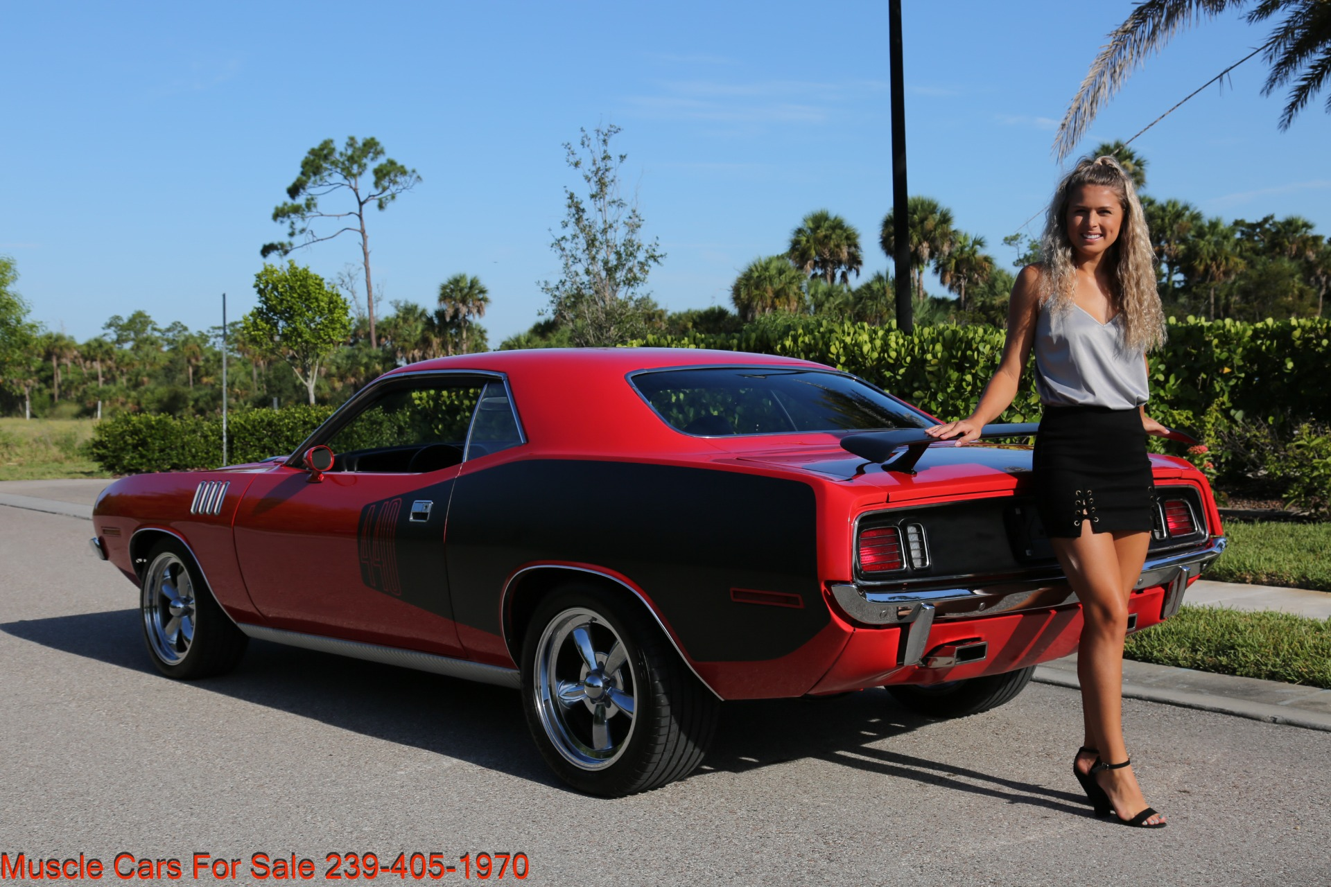 Used 1971 Plymouth Cuda Barracuda Cuda for sale Sold at Muscle Cars for Sale Inc. in Fort Myers FL 33912 6