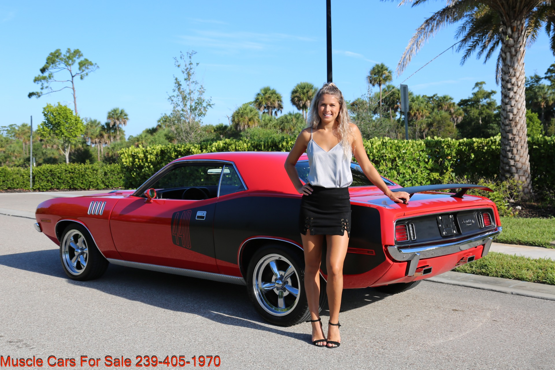 Used 1971 Plymouth Cuda Barracuda Cuda for sale Sold at Muscle Cars for Sale Inc. in Fort Myers FL 33912 8