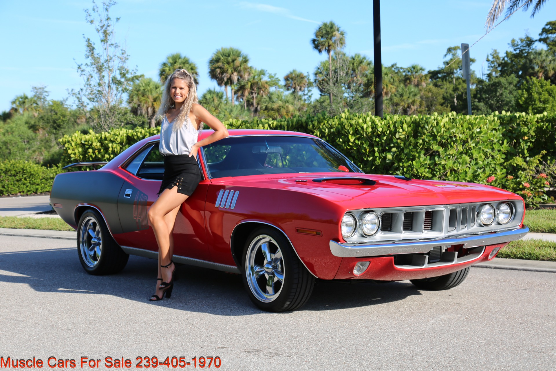 Used 1971 Plymouth Cuda Barracuda Cuda for sale Sold at Muscle Cars for Sale Inc. in Fort Myers FL 33912 1