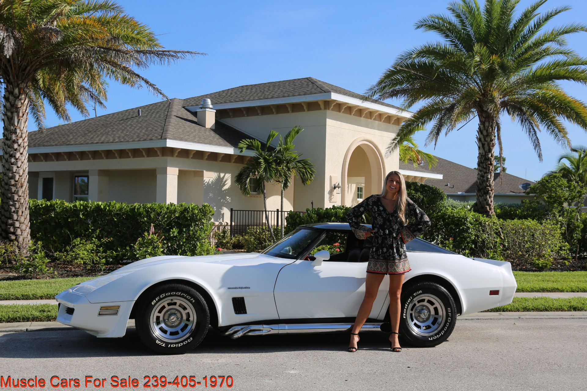 Used 1982 Chevrolet Corvette T TOP Crate motor 330 HP for sale $13,000 at Muscle Cars for Sale Inc. in Fort Myers FL 33912 3