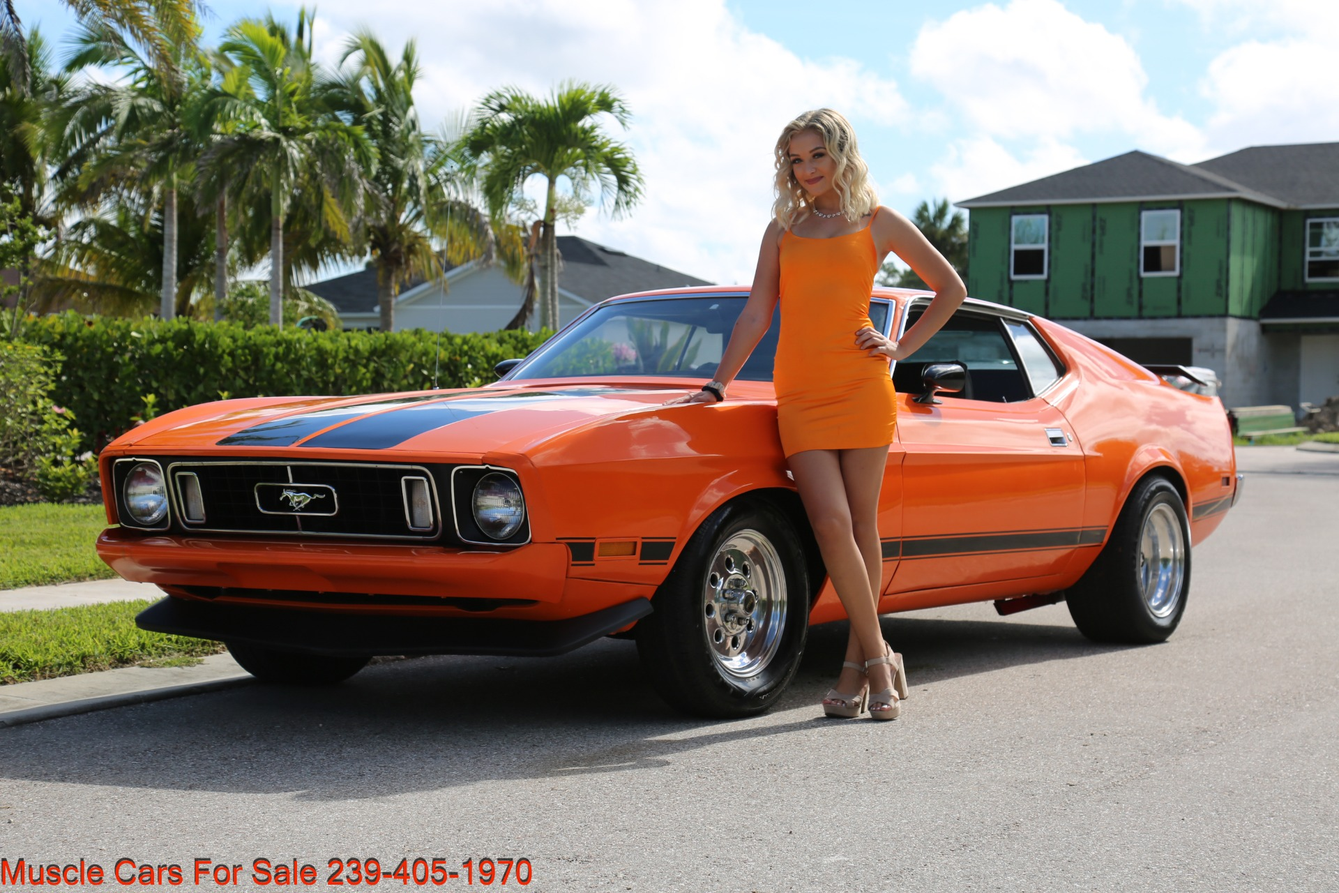 Used 1973 Ford Mustang V8 auto Fastback for sale $16,000 at Muscle Cars for Sale Inc. in Fort Myers FL 33912 5