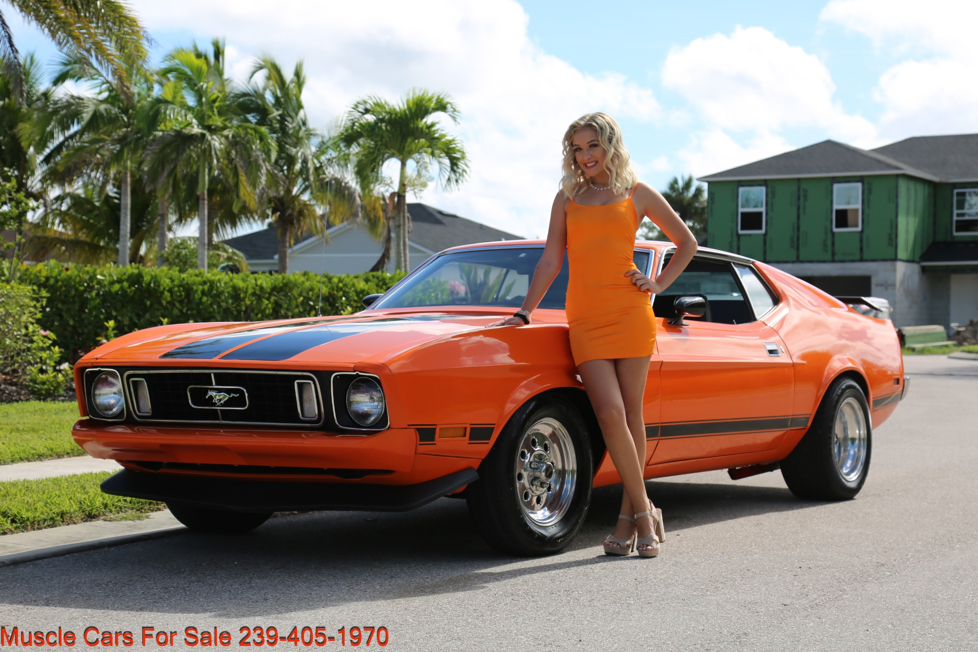 Used 1973 Ford Mustang V8 auto Fastback for sale $16,000 at Muscle Cars for Sale Inc. in Fort Myers FL 33912 6