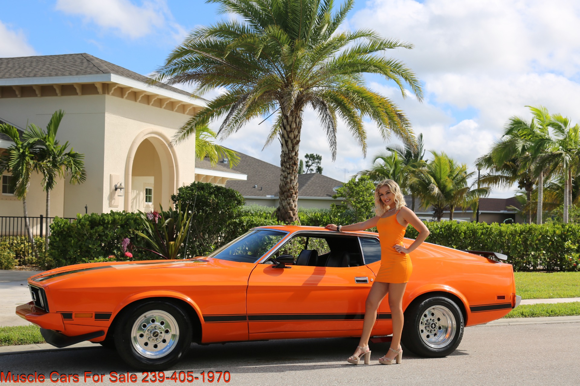 Used 1973 Ford Mustang V8 auto Fastback for sale $16,000 at Muscle Cars for Sale Inc. in Fort Myers FL 33912 1