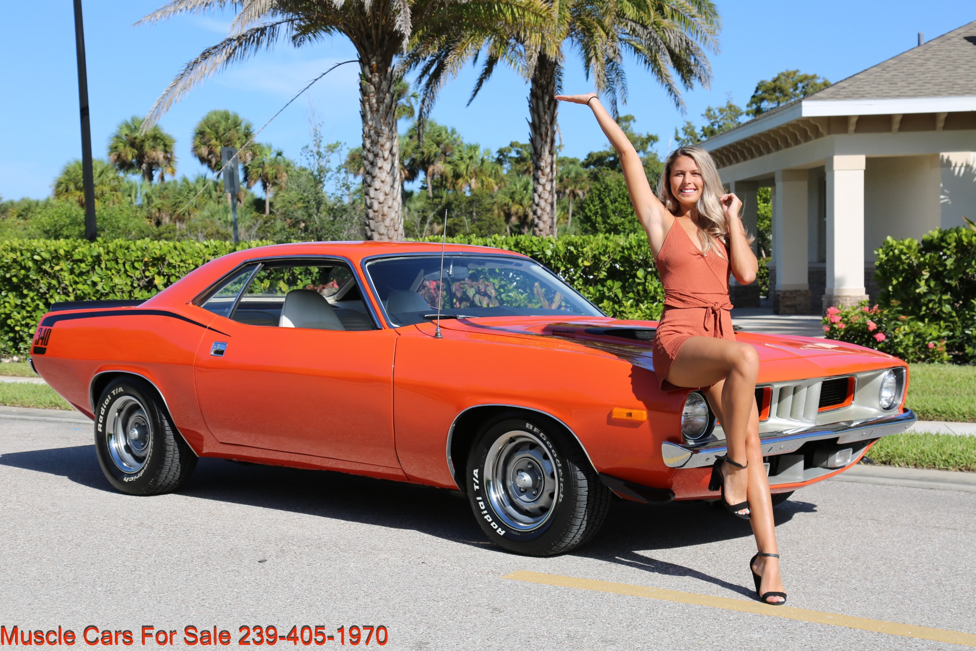 Used 1972 Plymouth BaraCuda Cuda Baracuda for sale $39,500 at Muscle Cars for Sale Inc. in Fort Myers FL 33912 3