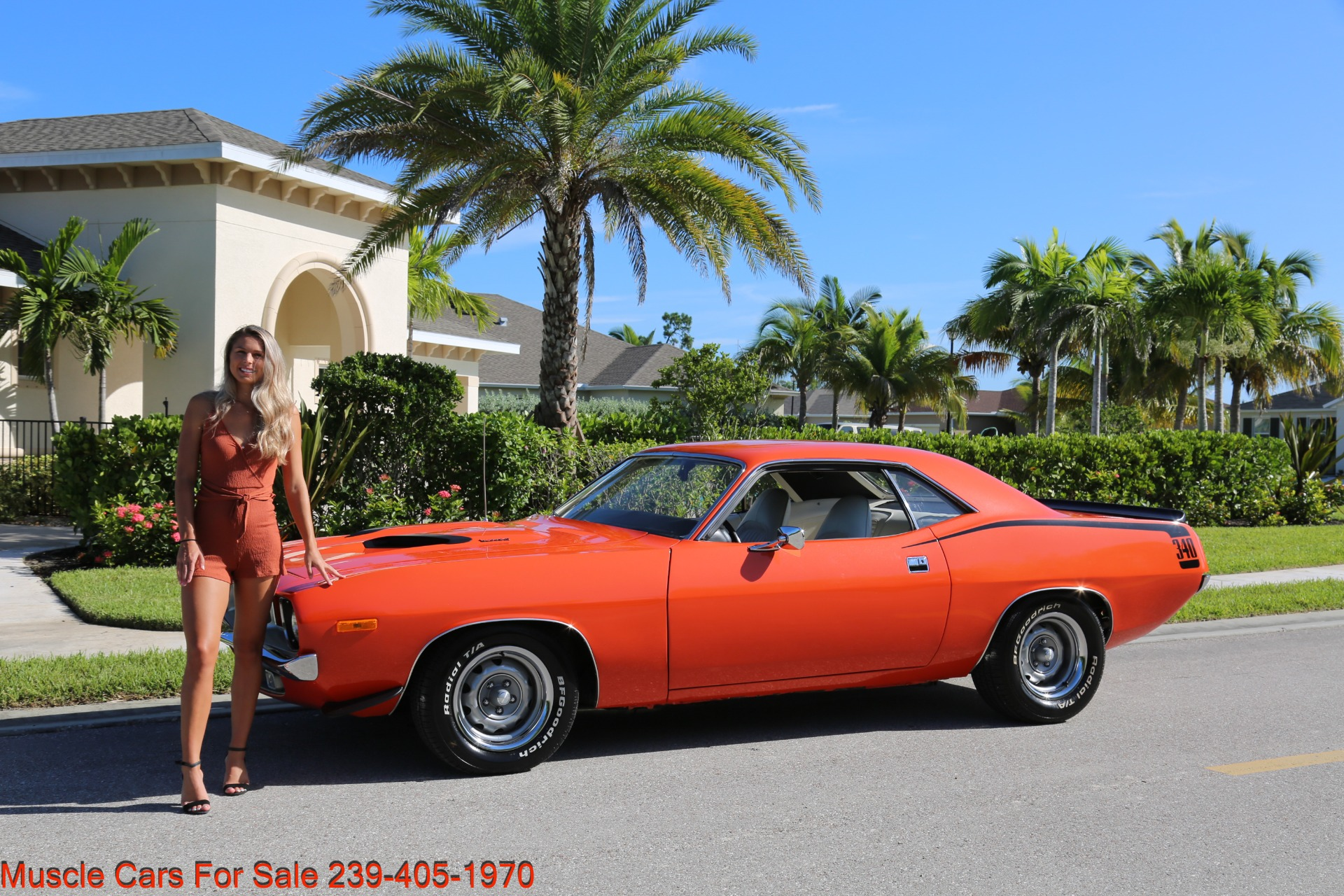 Used 1972 Plymouth BaraCuda Cuda Baracuda for sale $39,500 at Muscle Cars for Sale Inc. in Fort Myers FL 33912 4