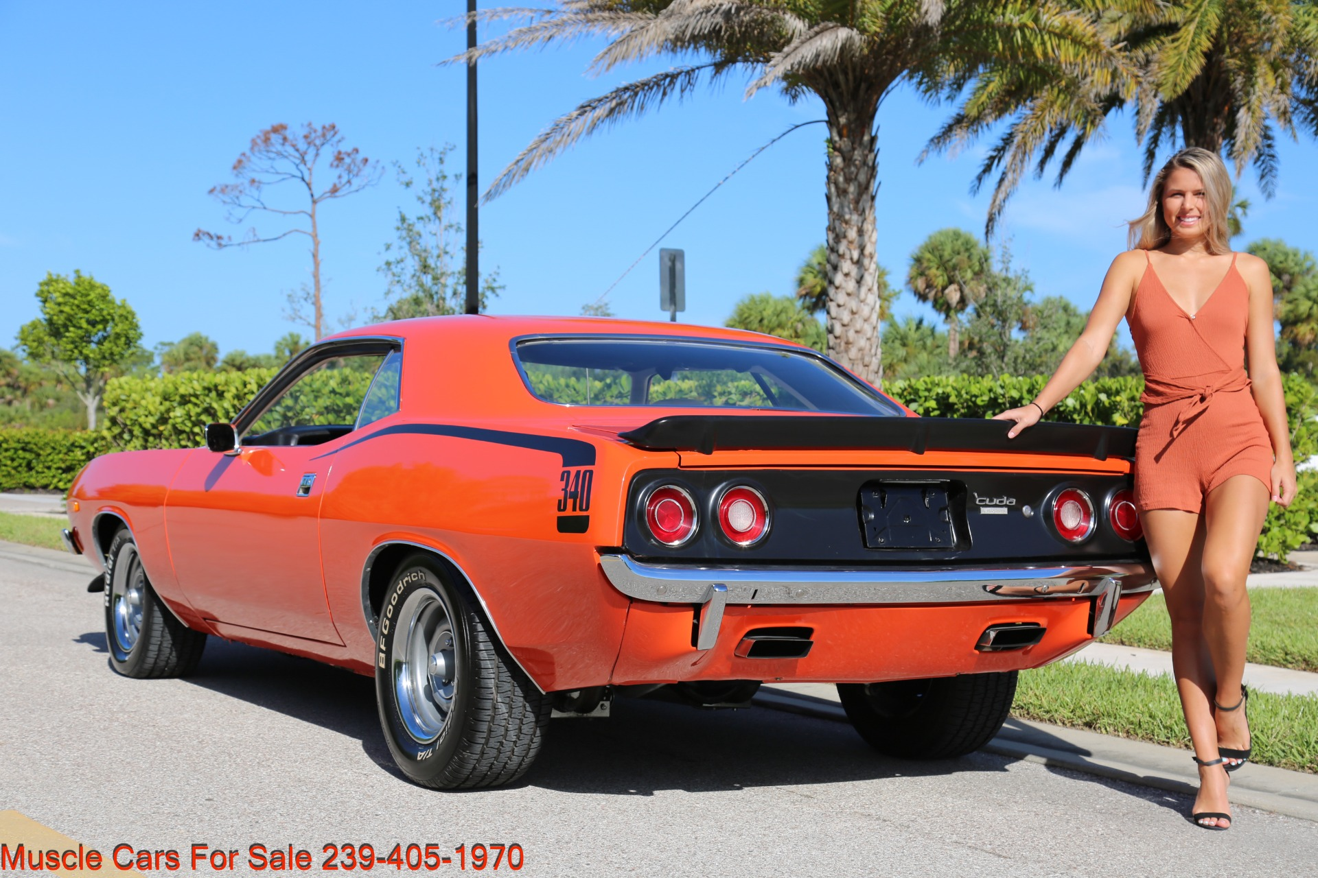 Used 1972 Plymouth BaraCuda Cuda Baracuda for sale $39,500 at Muscle Cars for Sale Inc. in Fort Myers FL 33912 7