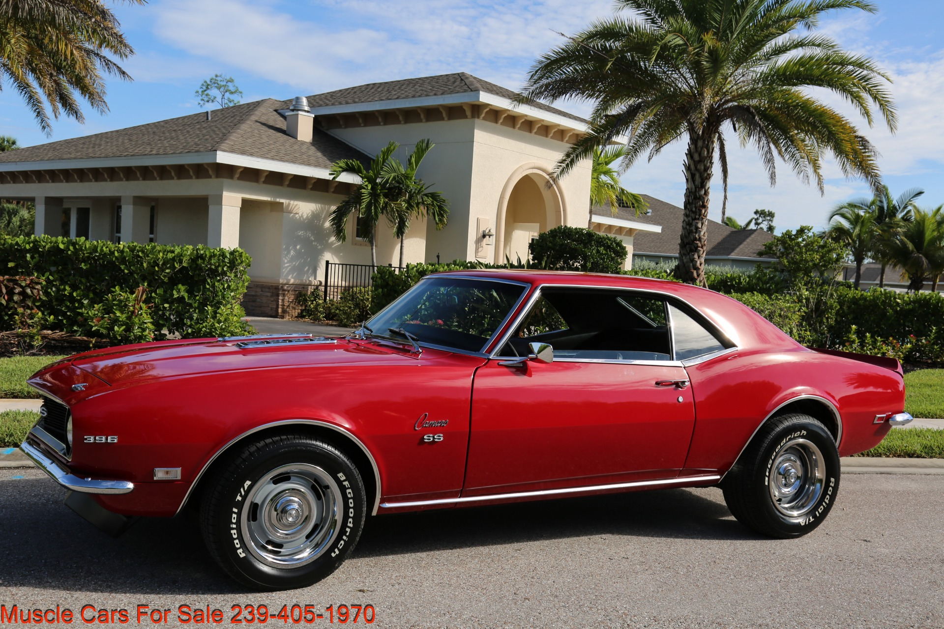 Used 1968 Chevy Camaro SS for sale $41,000 at Muscle Cars for Sale Inc. in Fort Myers FL 33912 2