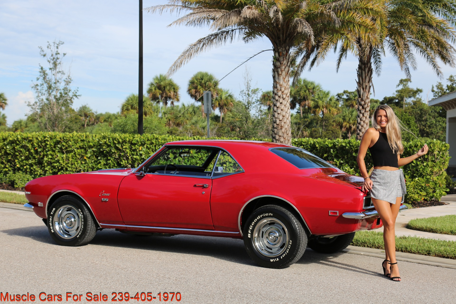Used 1968 Chevy Camaro SS for sale $41,000 at Muscle Cars for Sale Inc. in Fort Myers FL 33912 4
