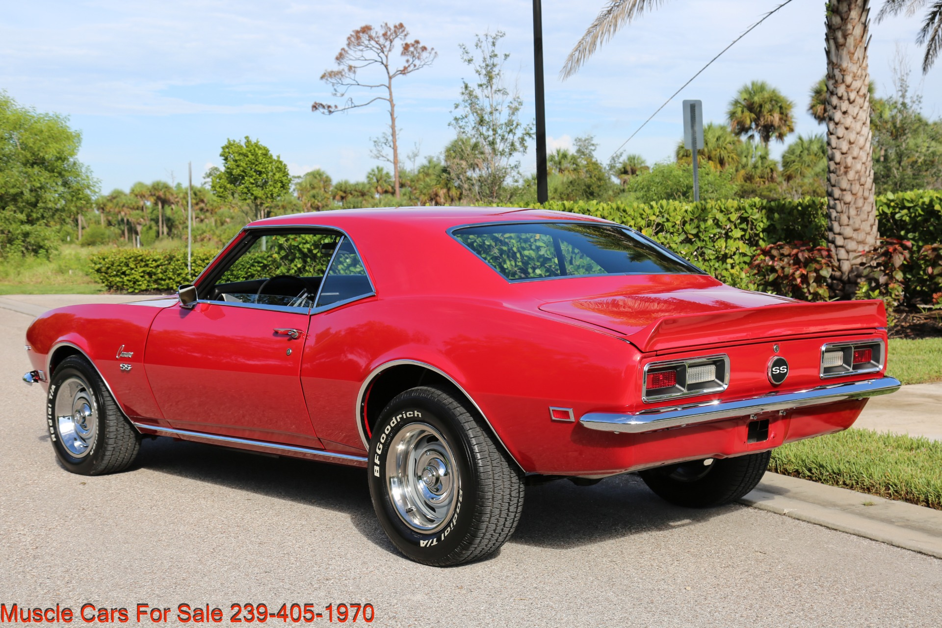 Used 1968 Chevy Camaro SS for sale $41,000 at Muscle Cars for Sale Inc. in Fort Myers FL 33912 6