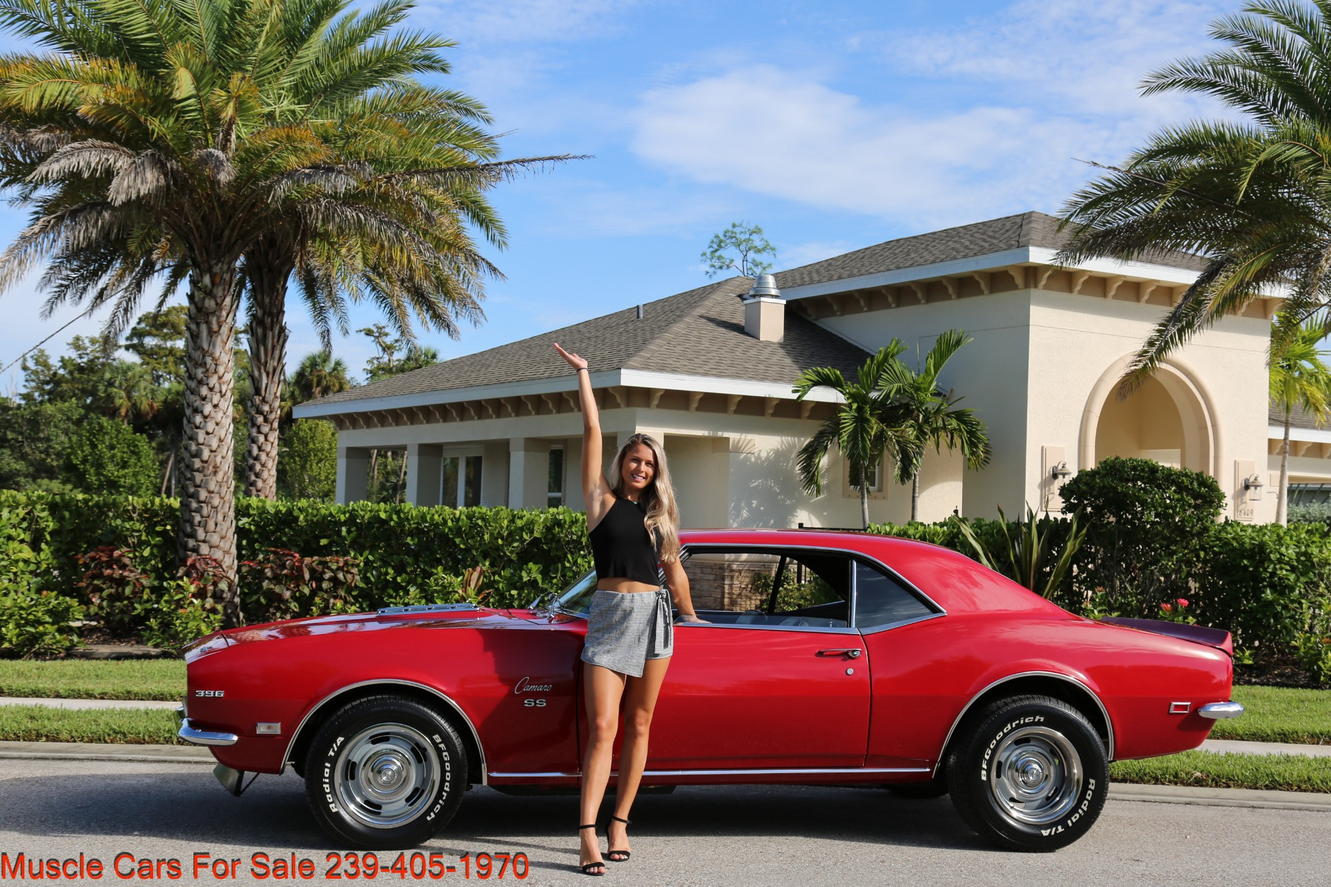 Used 1968 Chevy Camaro SS for sale $41,000 at Muscle Cars for Sale Inc. in Fort Myers FL 33912 1